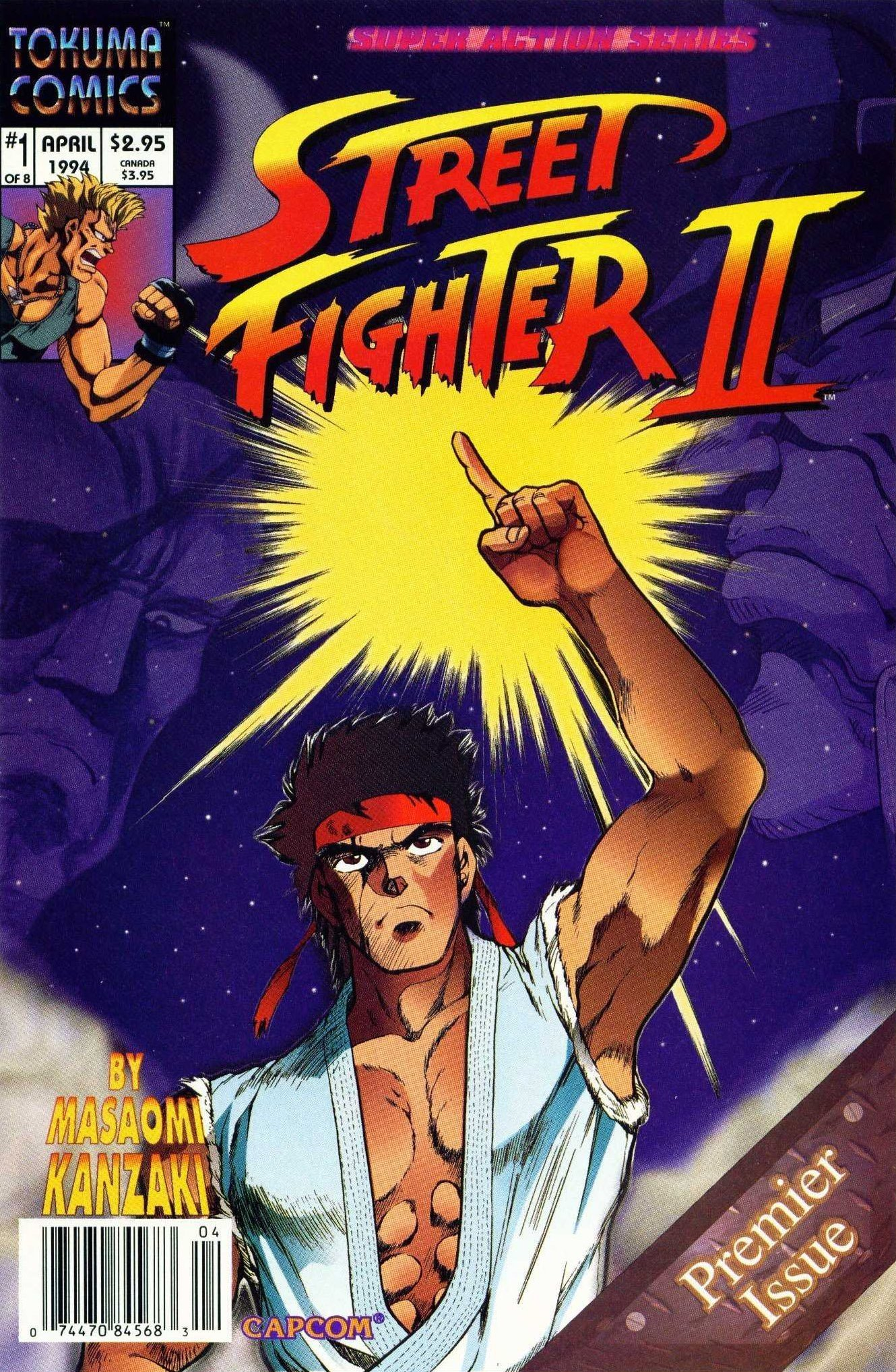 Street Fighter II 01 (April 1994)