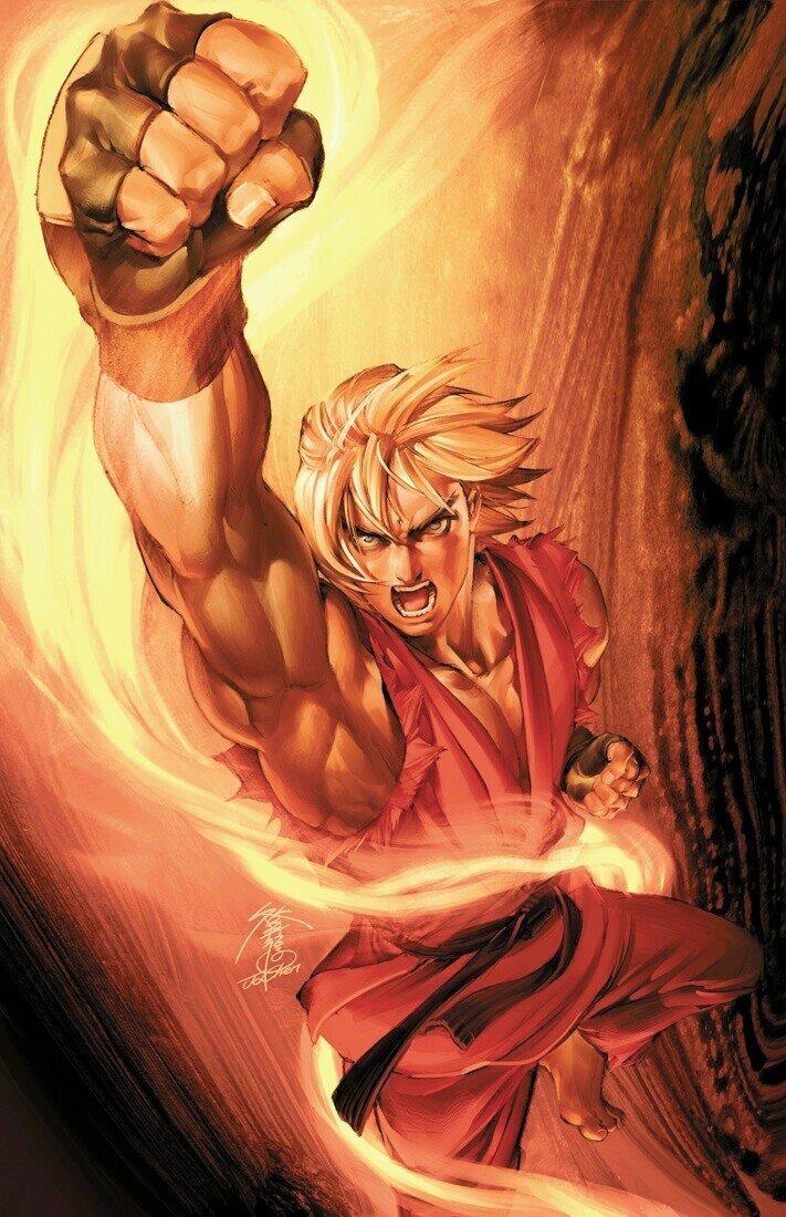 Street Fighter Vol.1 002 (October 2003) (Jo Chen virgin variant)