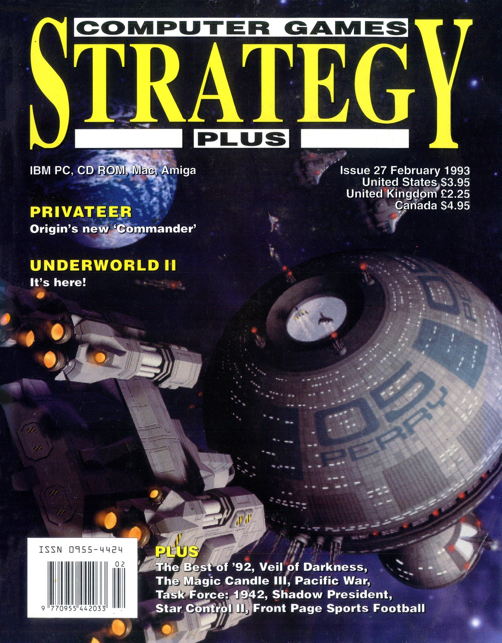 Computer Games Strategy Plus Issue 027 (February 1993)