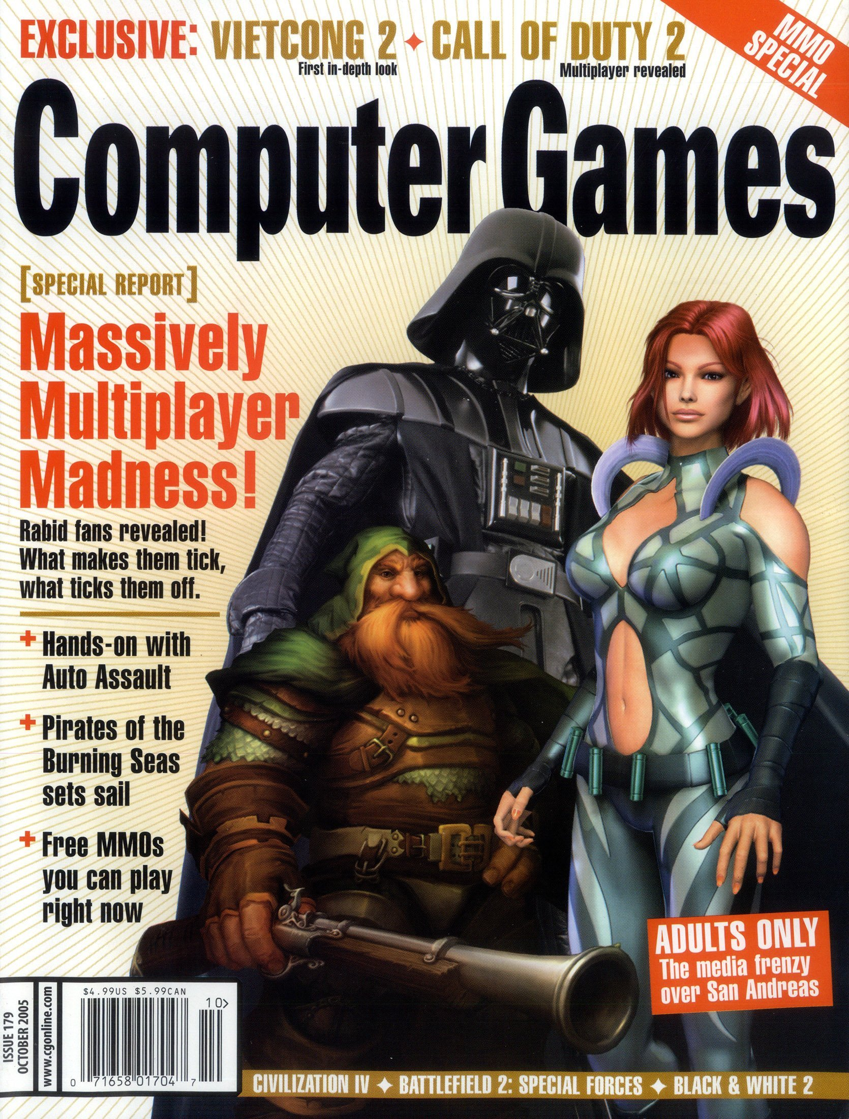 Computer Games Issue 179 (October 2005)