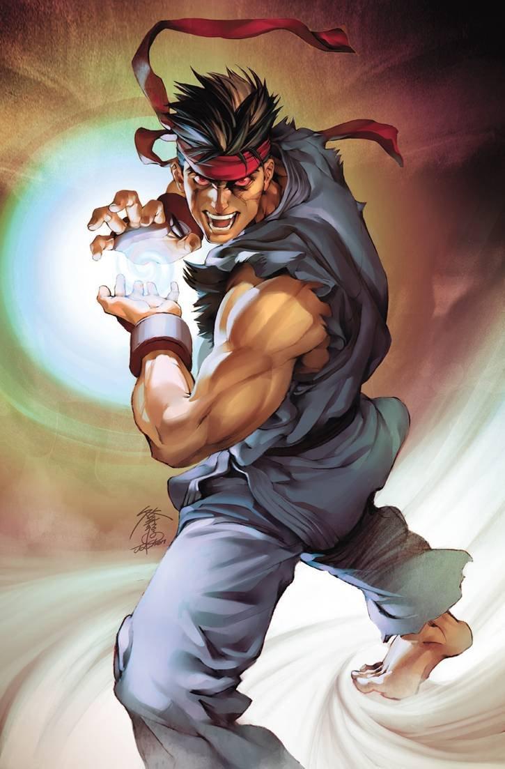 Street Fighter II Issue 1 (November 2005) (Jo Chen Power Foil)