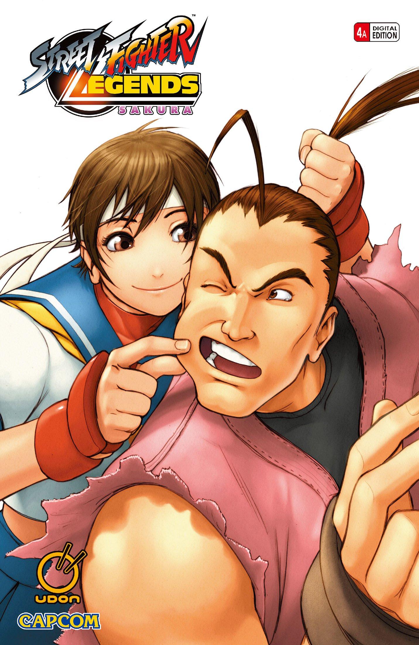 Street Fighter Legends: Sakura 004 (December 2006) (cover a)