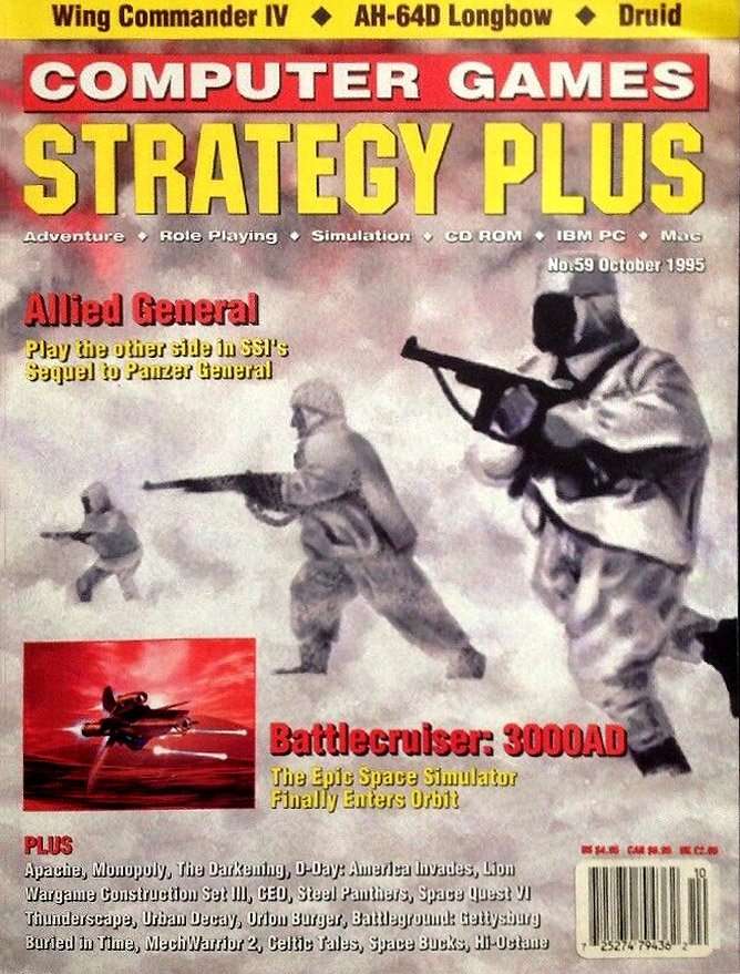 Computer Games Strategy Plus Issue 059 (October 1995)