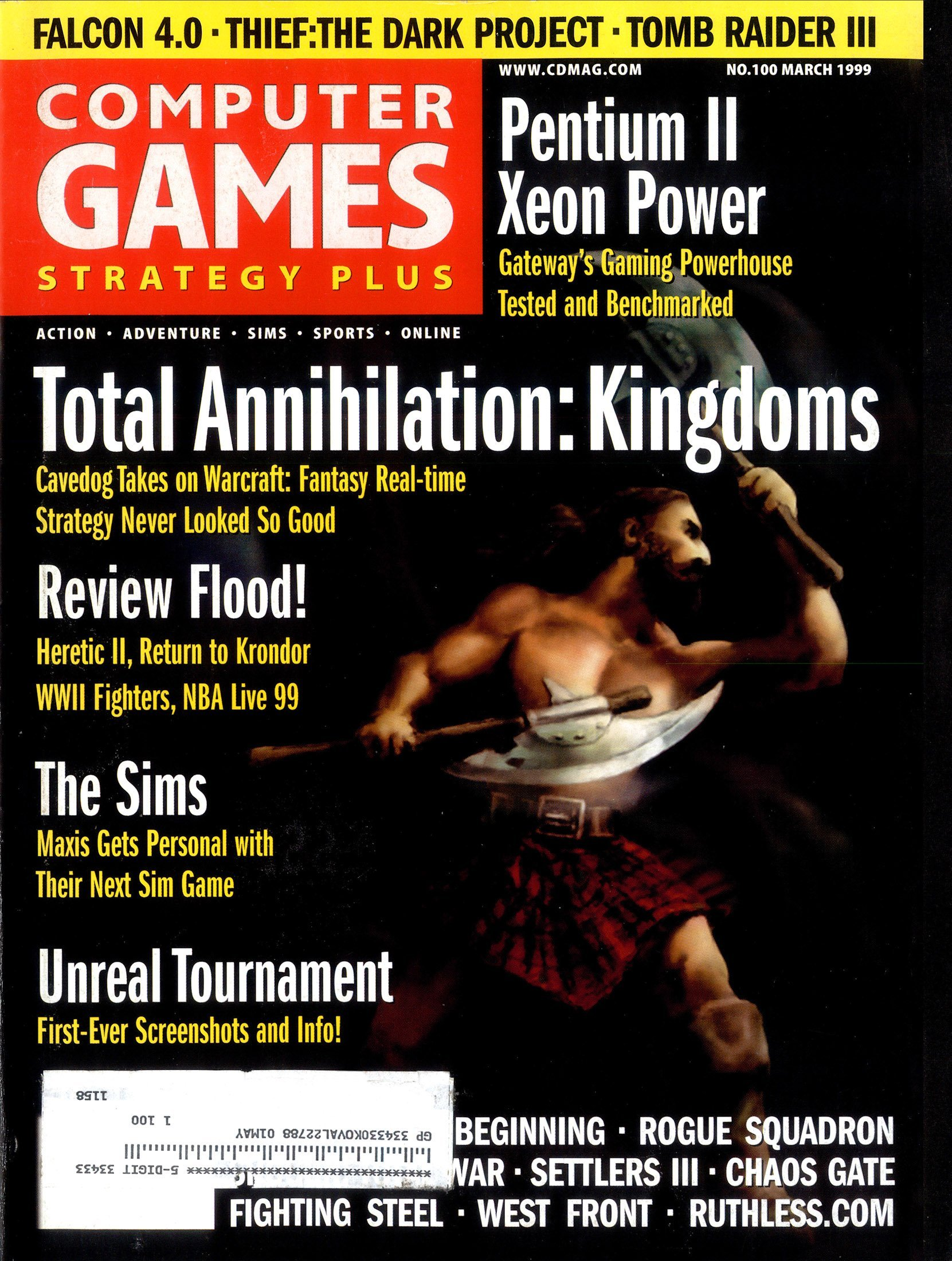 Computer Games Strategy Plus Issue 100 (March 1999)