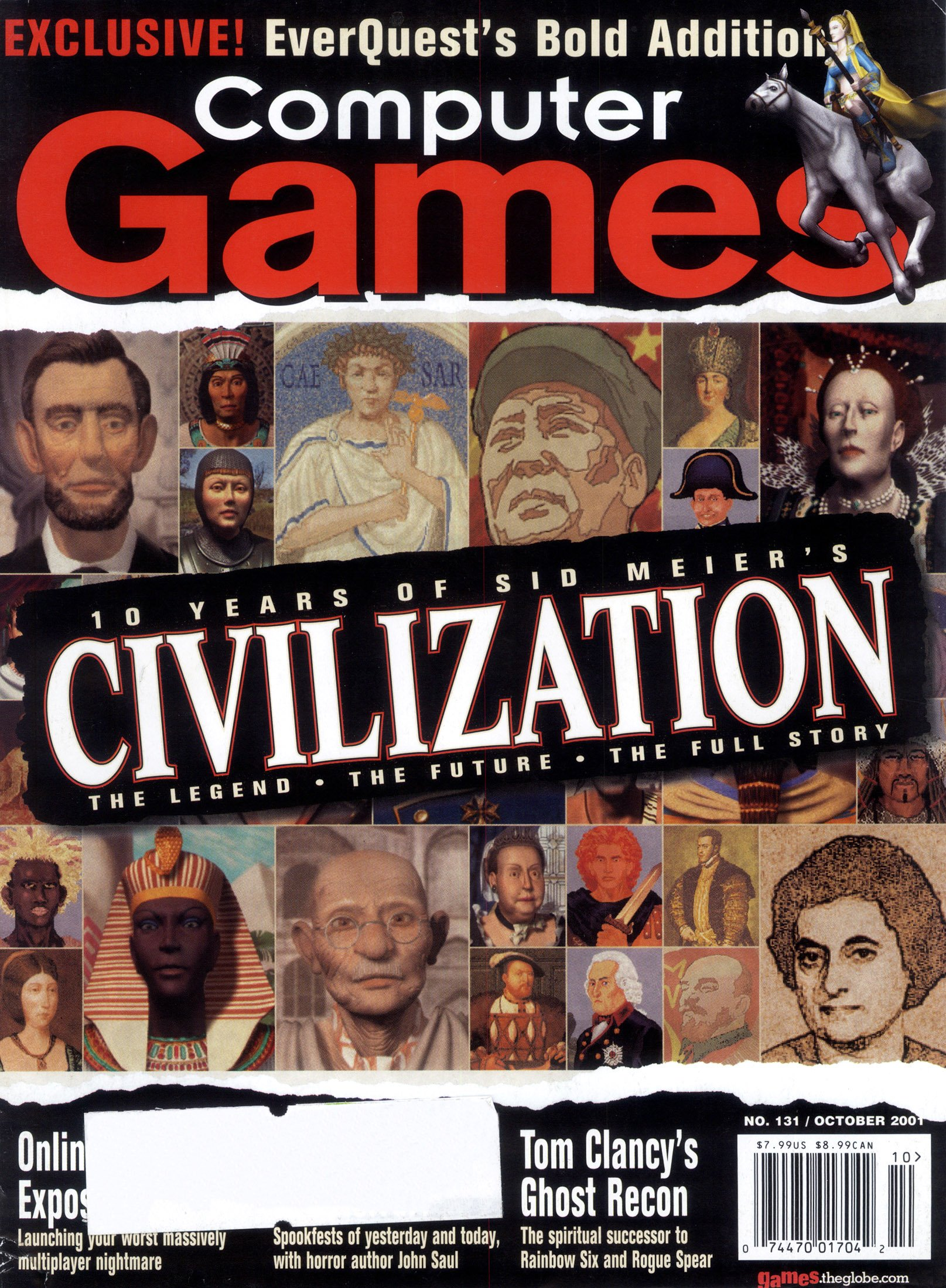 Computer Games Issue 131 (October 2001)