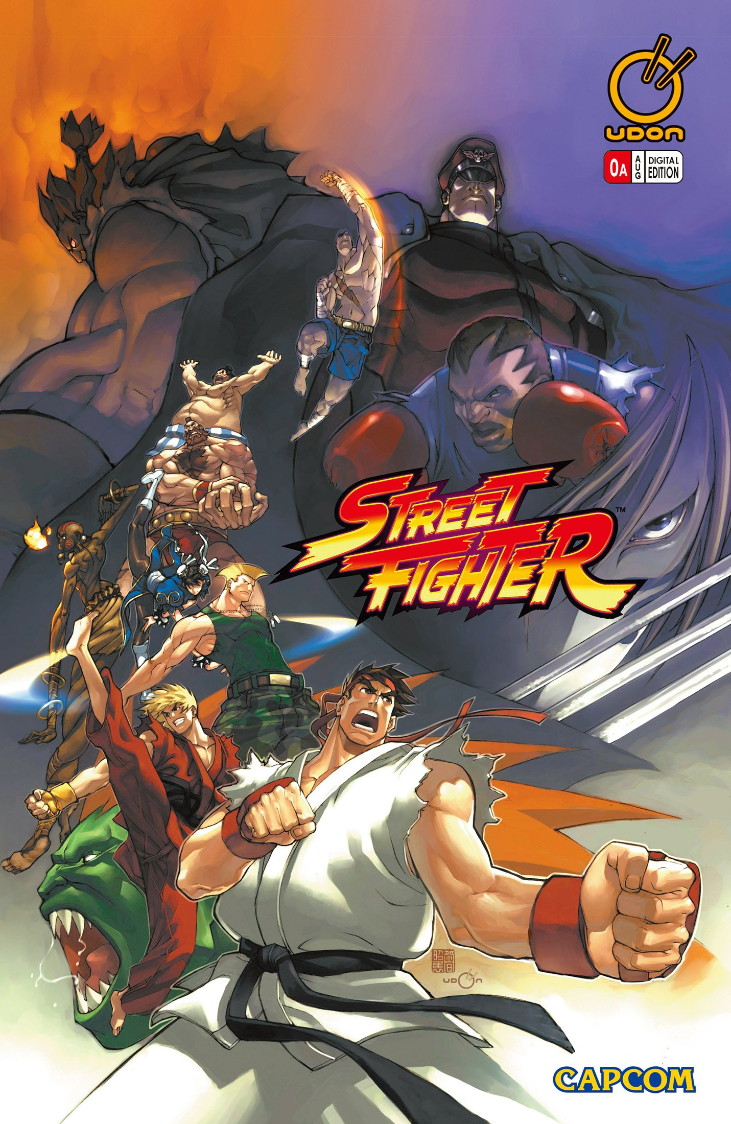 Street Fighter Vol.1 000 (August 2003) (cover a)
