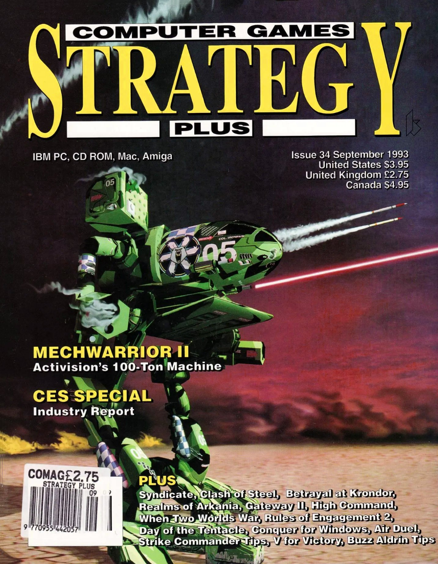 Computer Games Strategy Plus Issue 034 (September 1993)