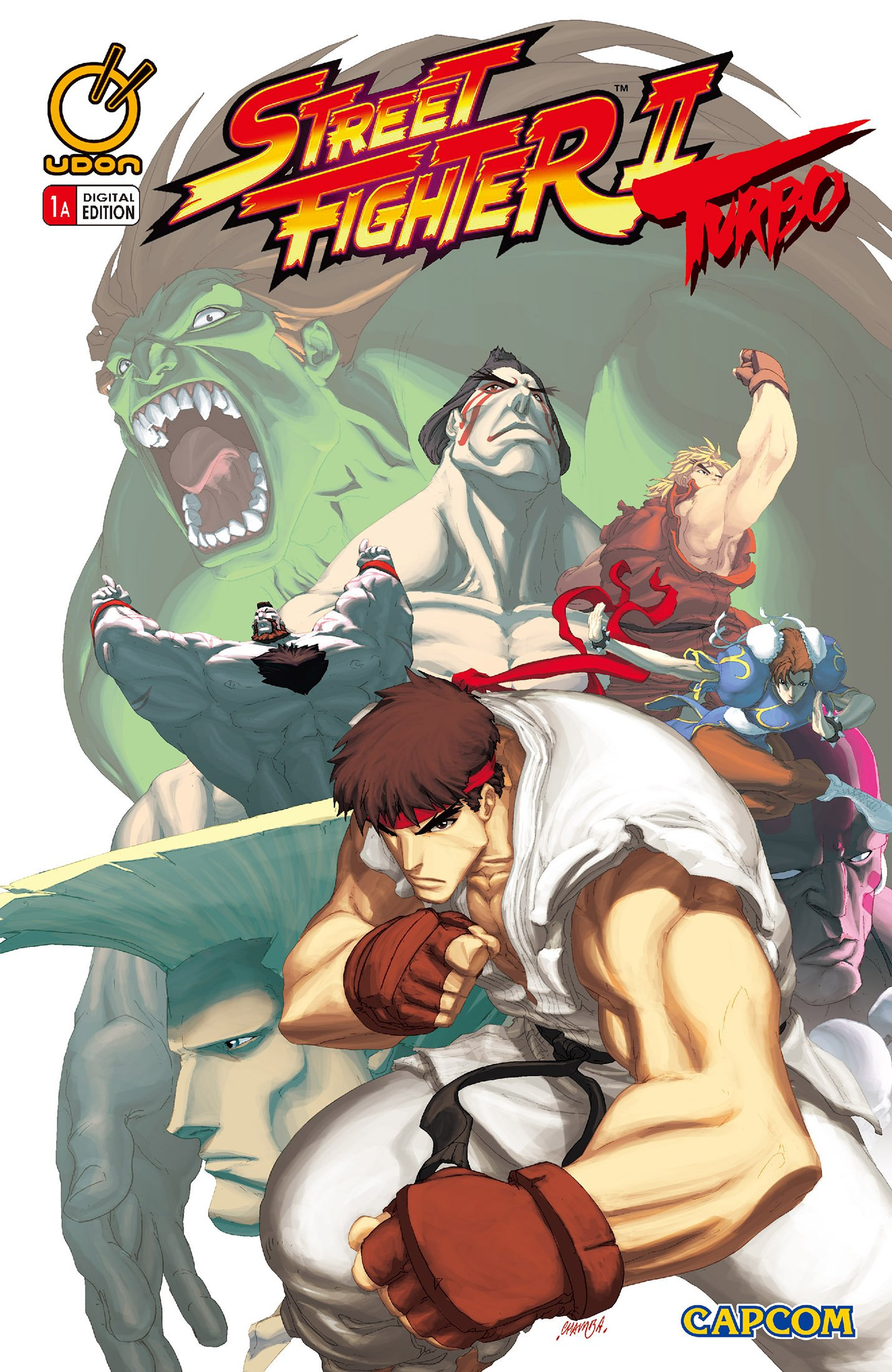 Street Fighter II Turbo 001 (October 2008) (cover a)