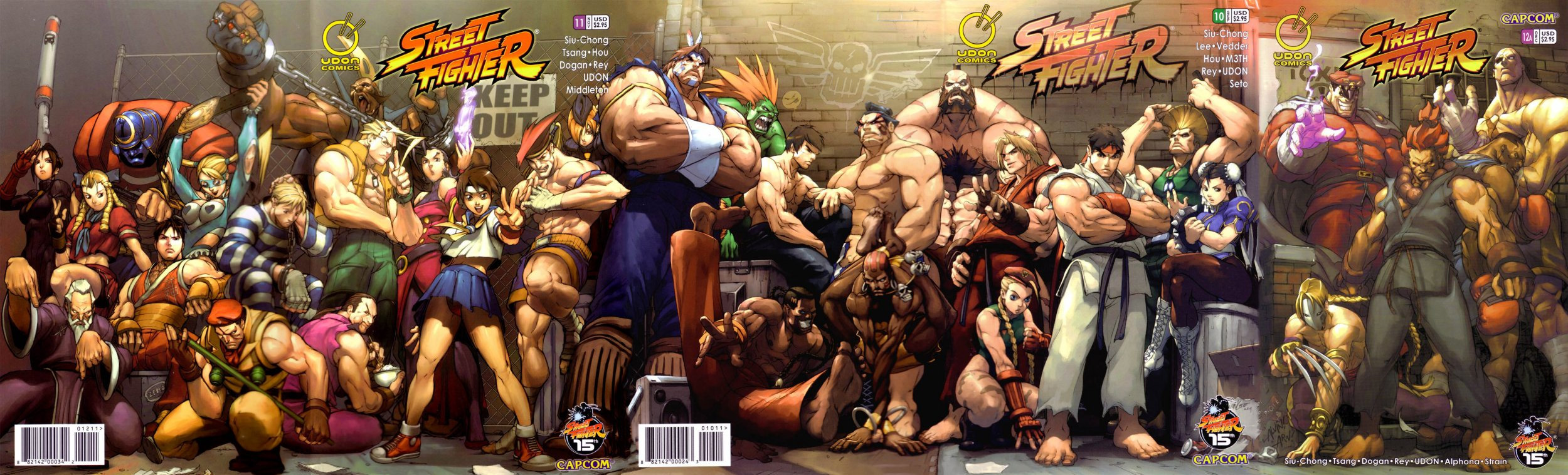 Street Fighter Vol.1 010-012 cover join