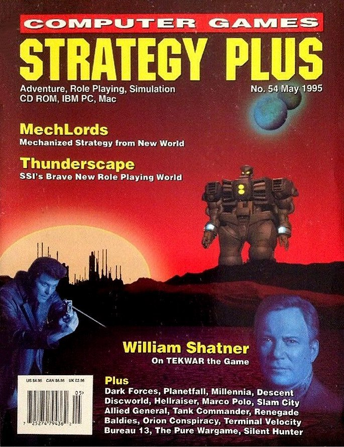 Computer Games Strategy Plus Issue 054 (May 1995)