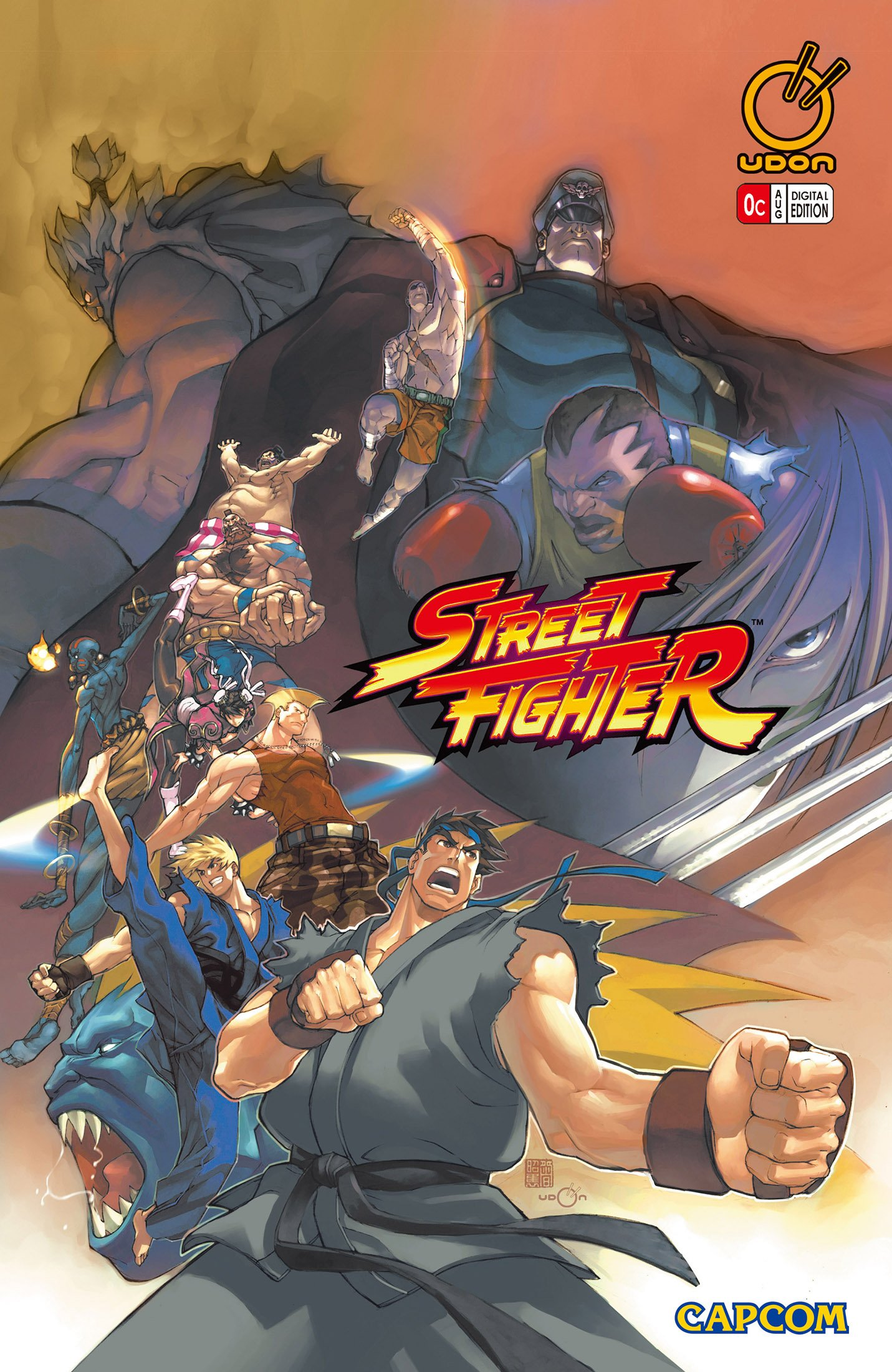 Street Fighter Vol.1 000 (August 2003) (cover c)