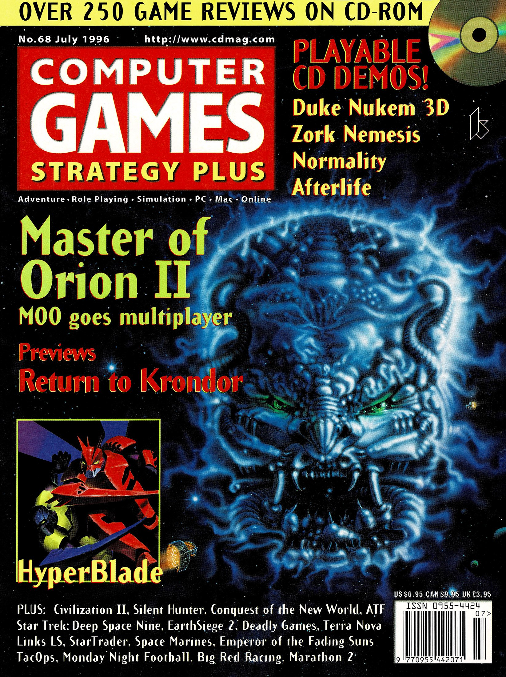 Computer Games Strategy Plus Issue 068 (July 1996)
