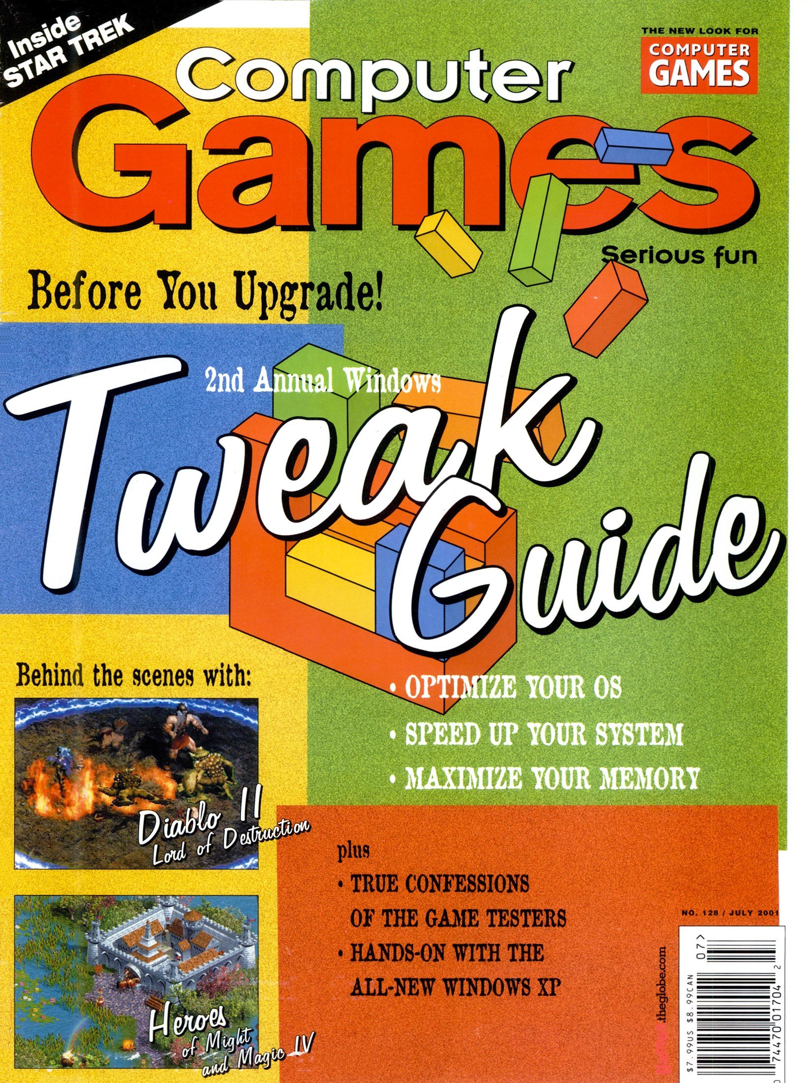 Computer Games Issue 128 (July 2001)