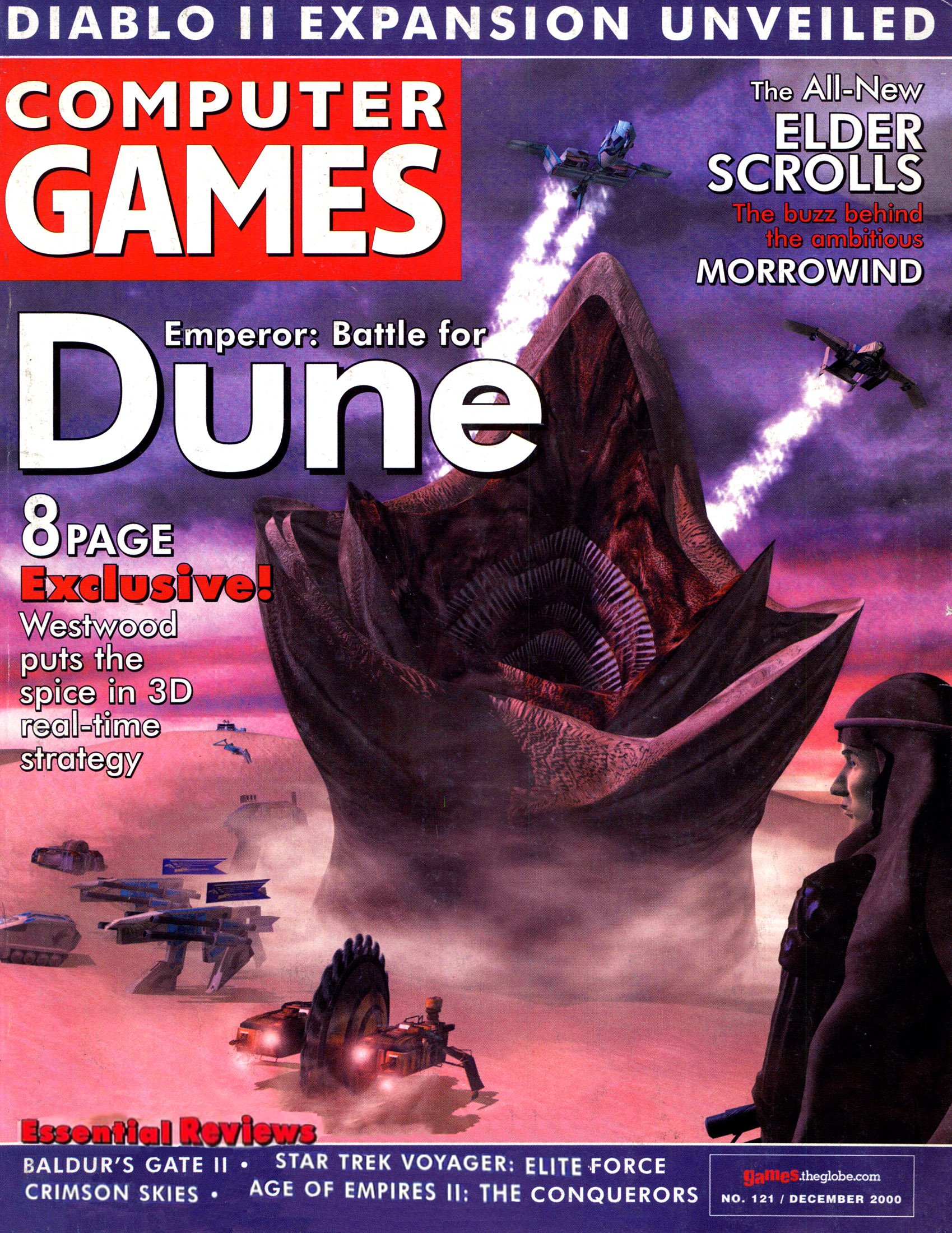 Computer Games Issue 121 (December 2000)
