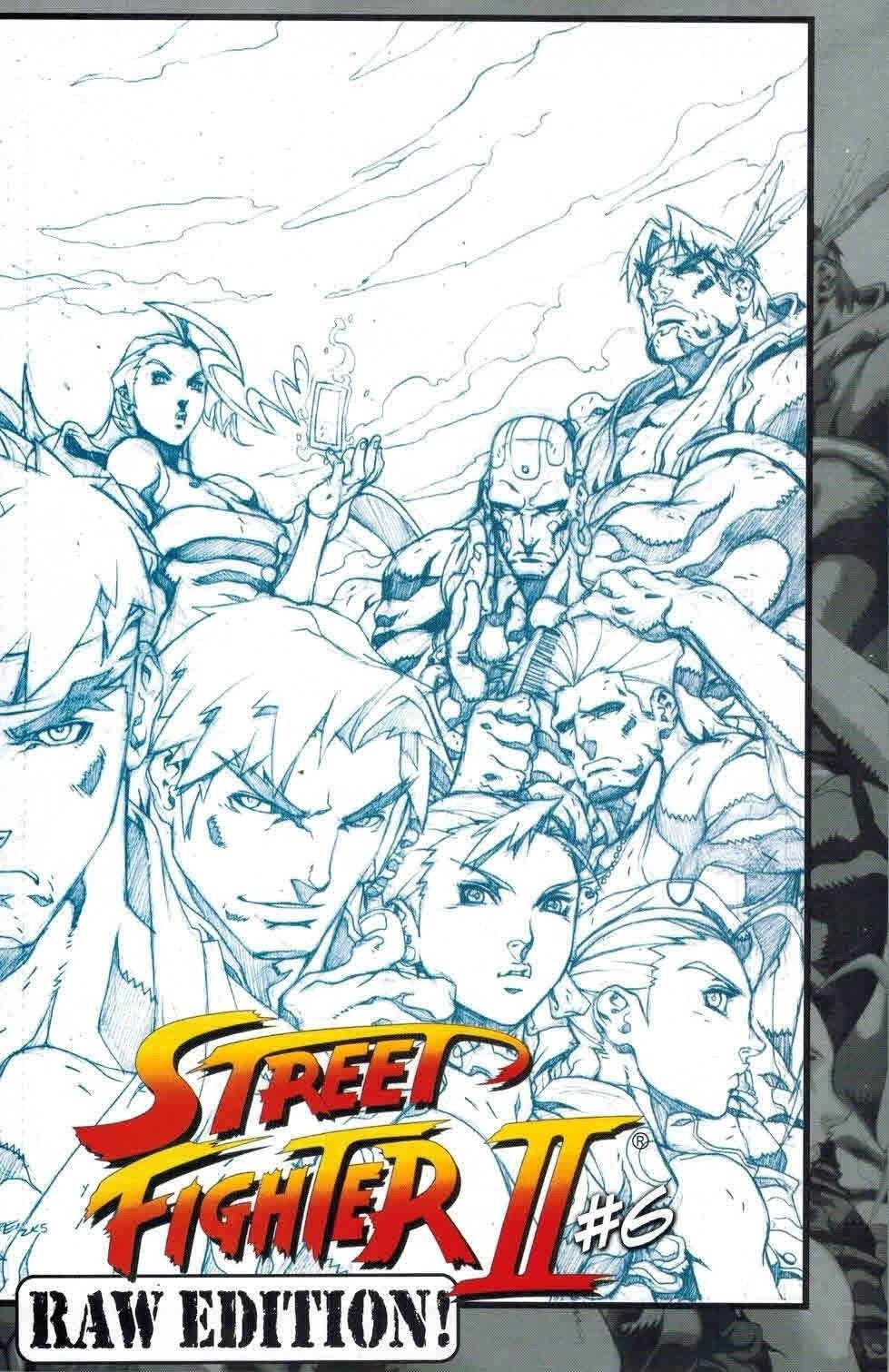 Street Fighter II Issue 6 (November 2006) (Raw Edition)