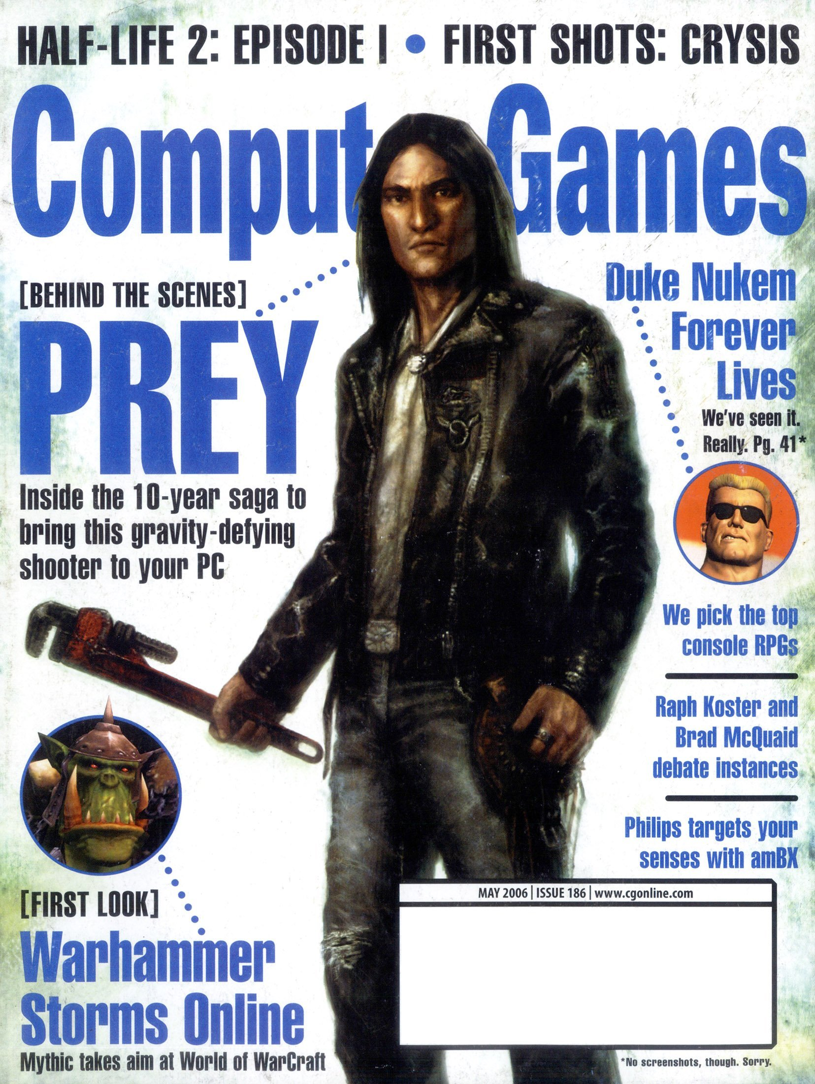 Computer Games Issue 186 (May 2006)