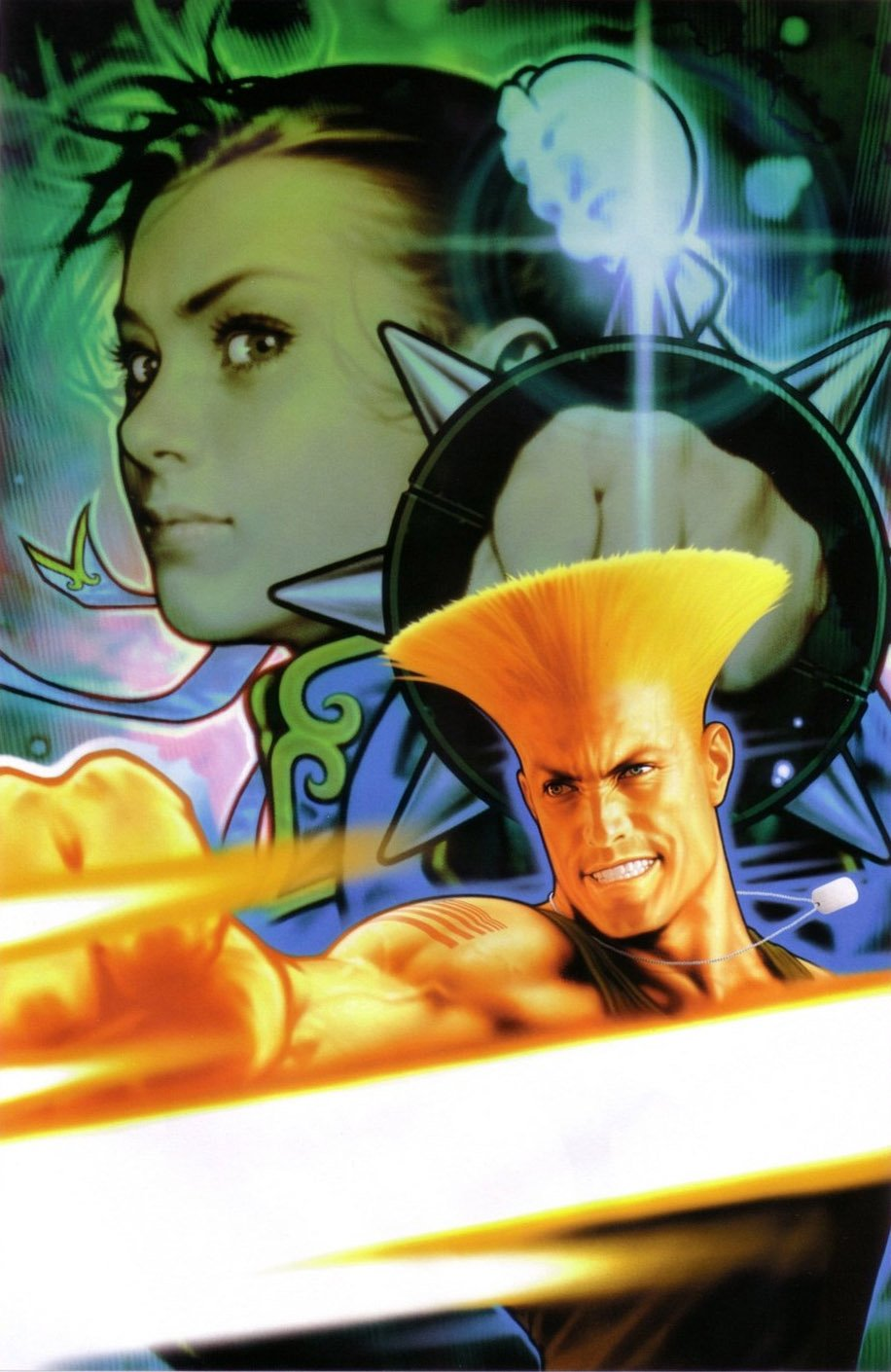 Street Fighter Vol.1 005 (January 2004) (Shinkiro Power Cell variant)