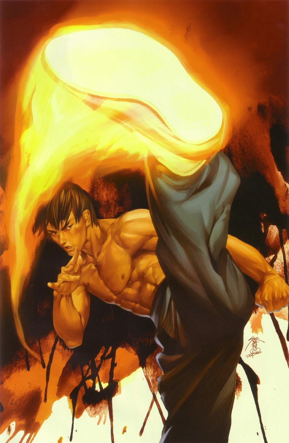 Street Fighter Vol.1 010 (September 2004) (Power Foil variant)