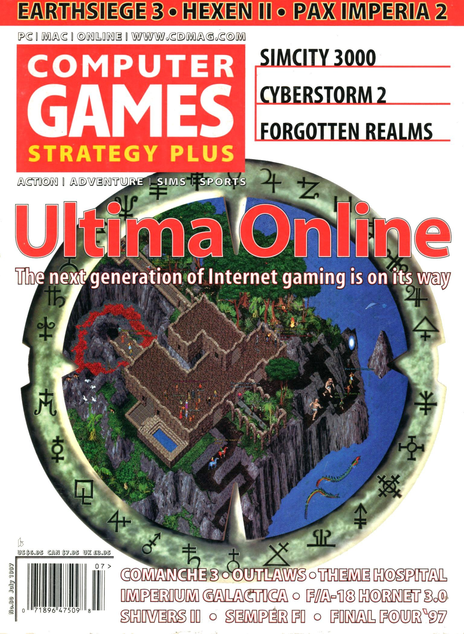 Computer Games Strategy Plus Issue 080 (July 1997)