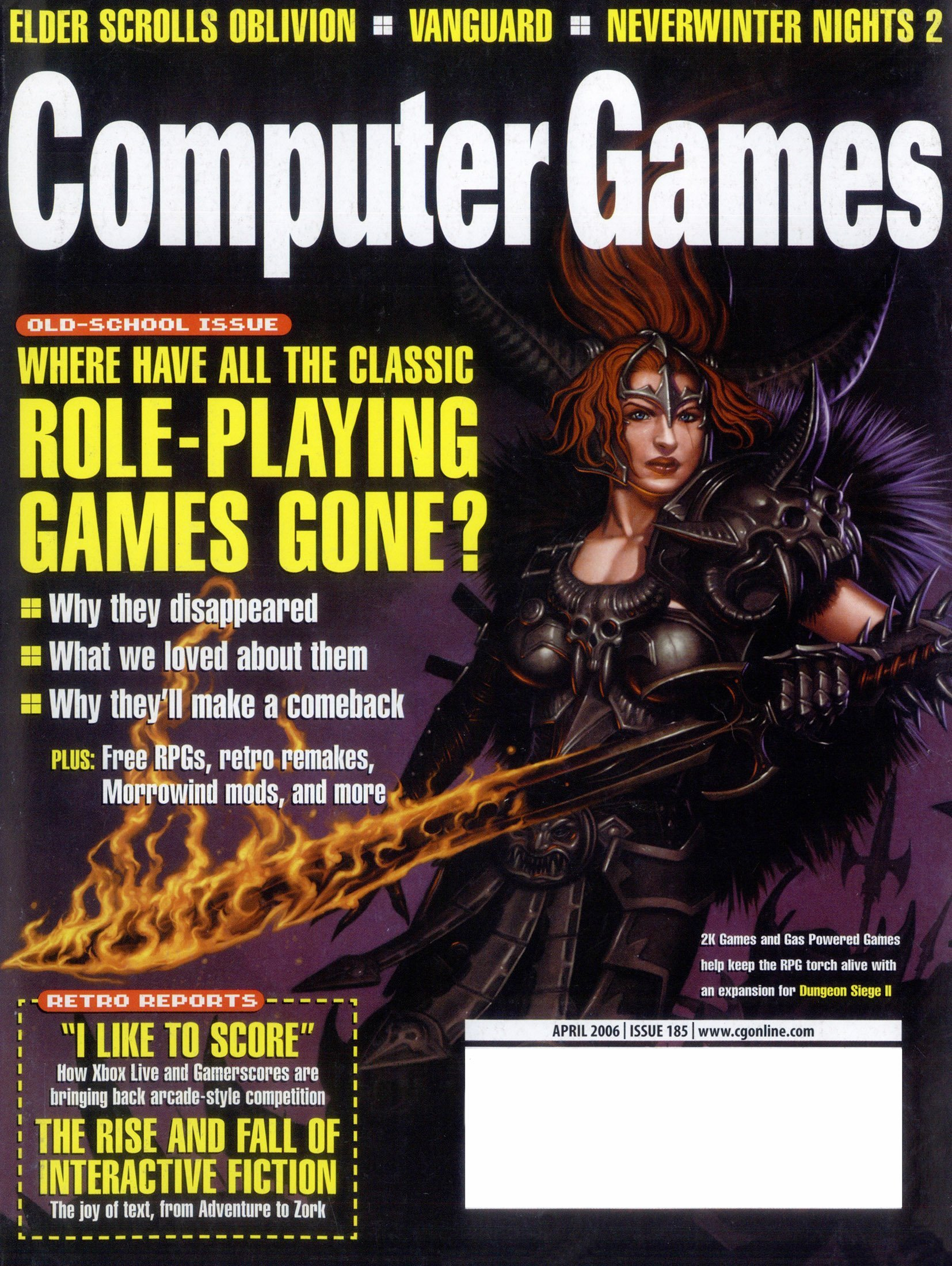 Computer Games Issue 185 (April 2006)