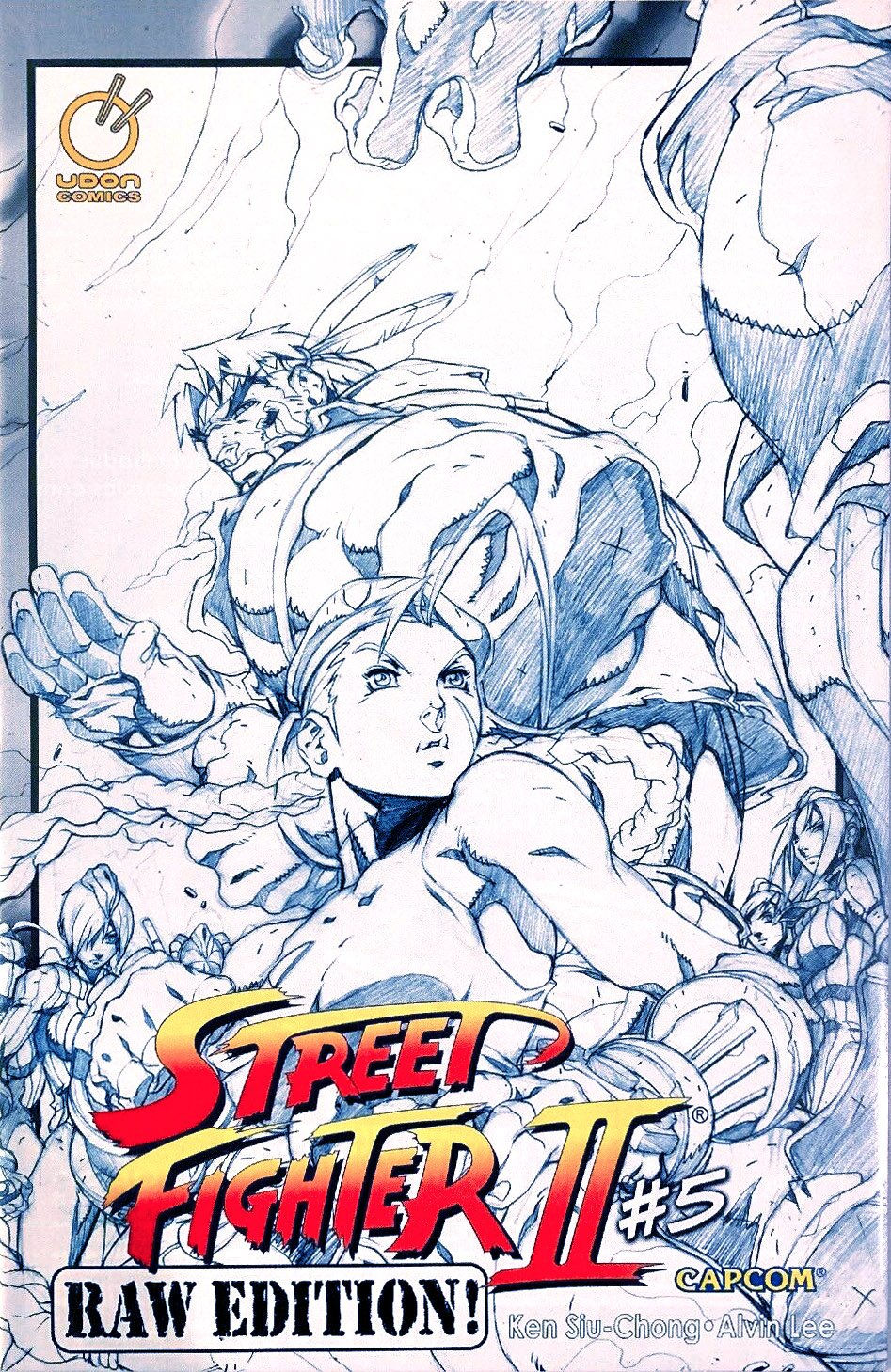 Street Fighter II Issue 5 (October 2006) (Raw Edition)