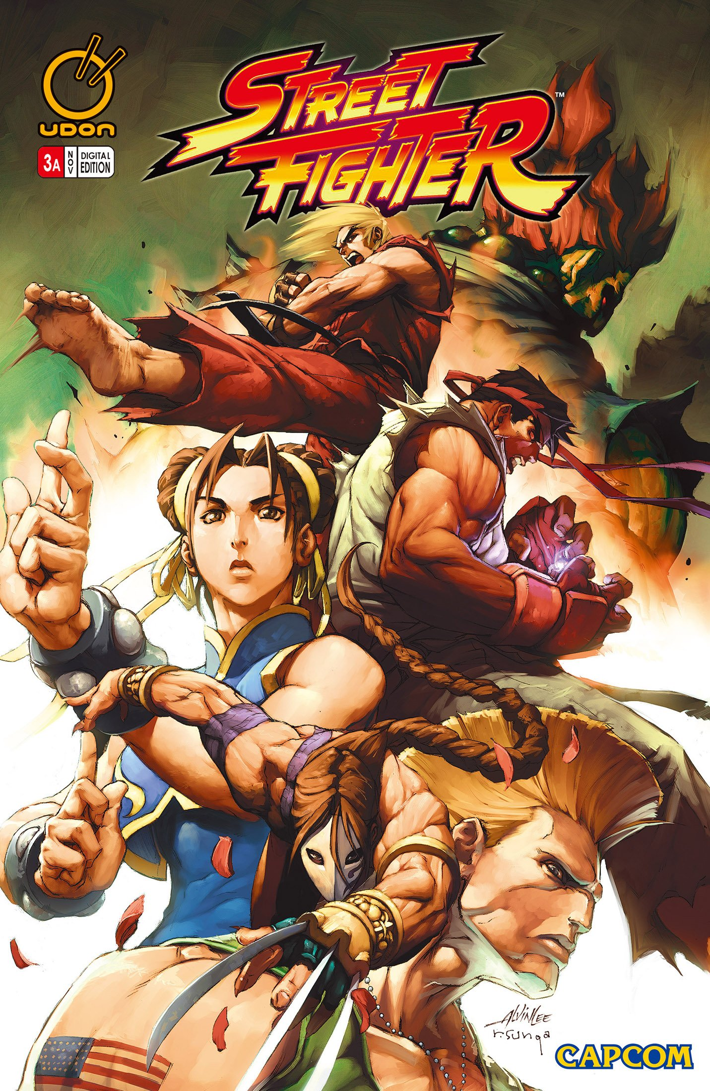 Street Fighter Vol.1 003 (November 2003) (cover a)