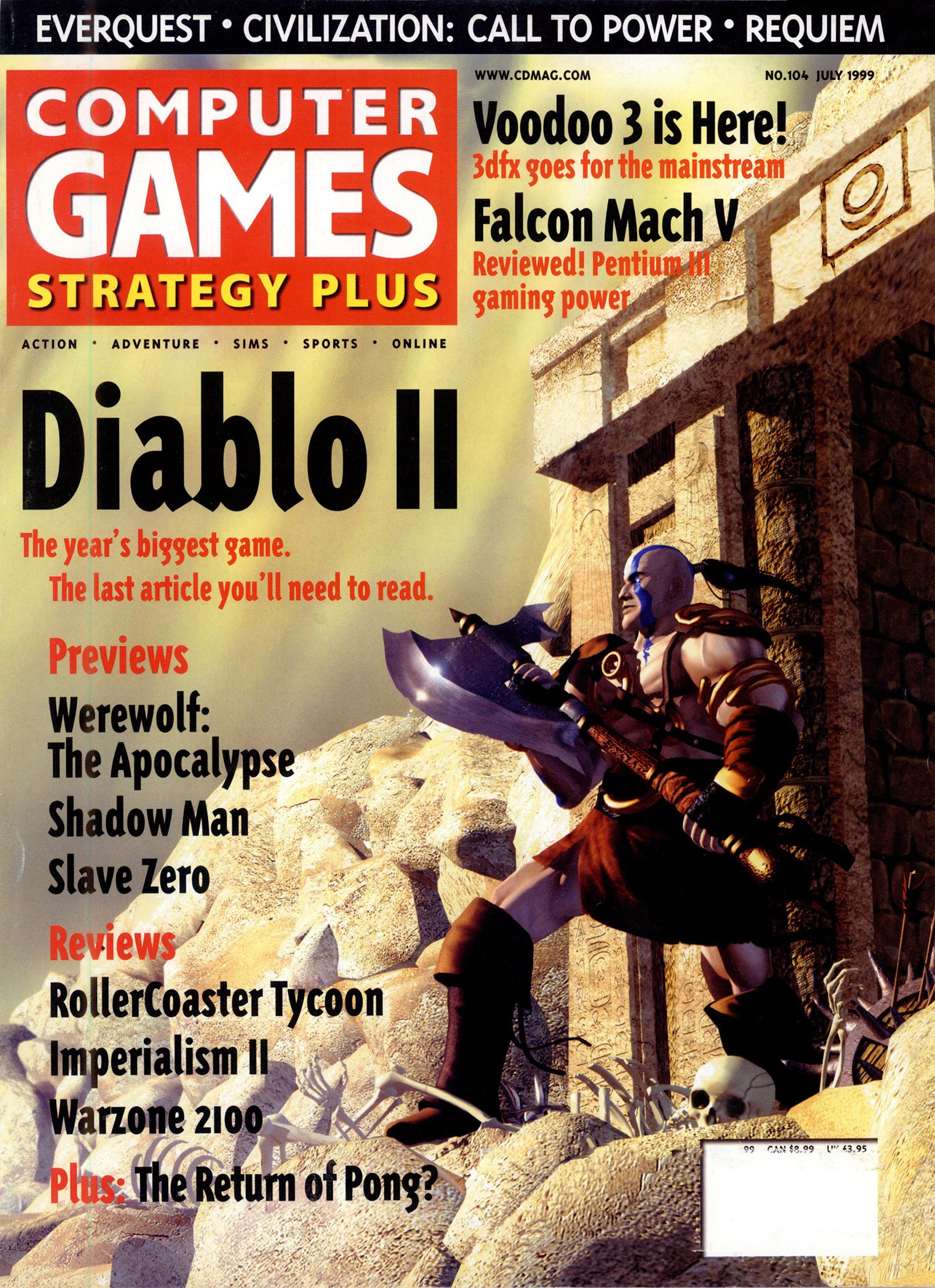Computer Games Strategy Plus Issue 104 (July 1999)
