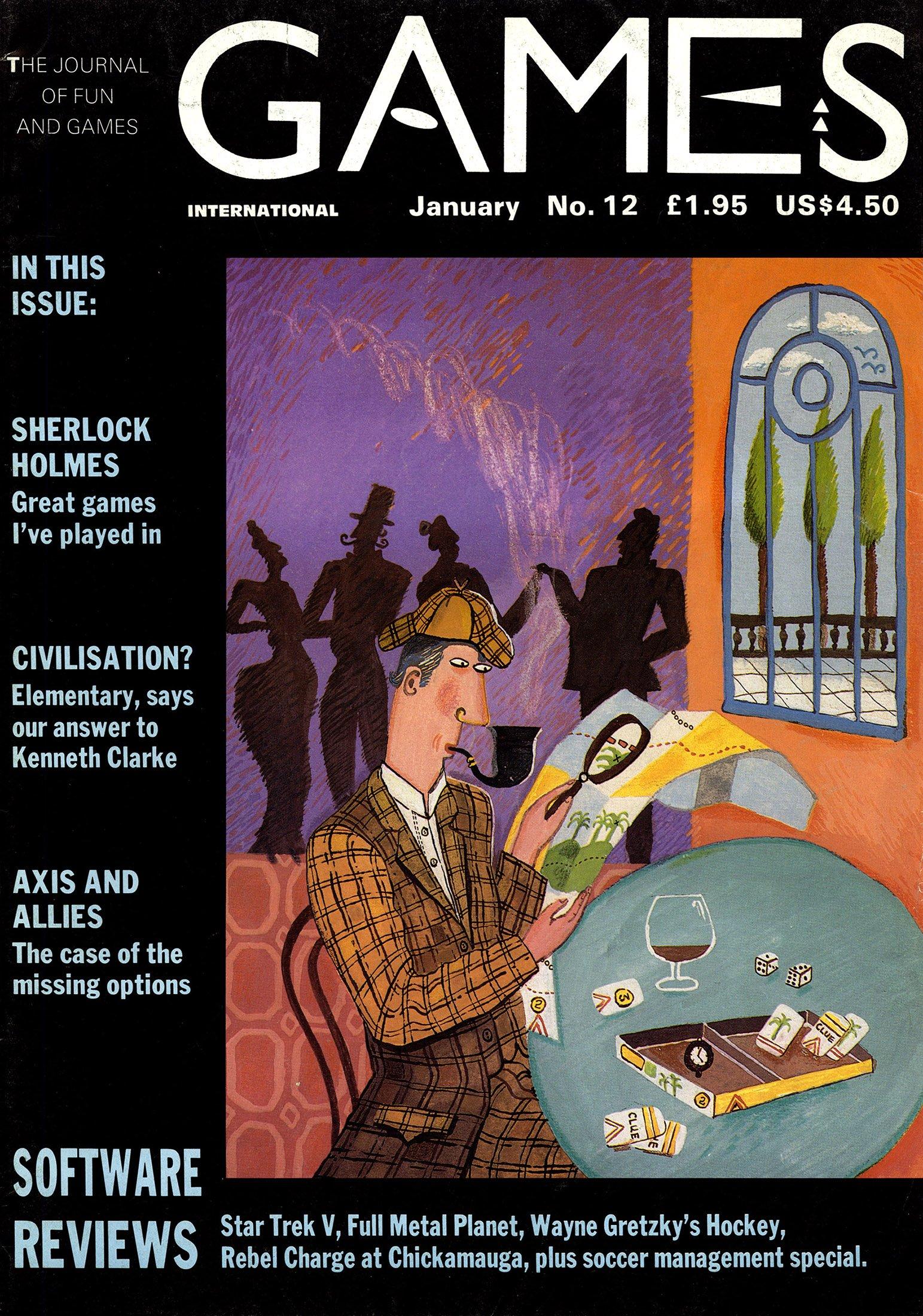 Games International Issue 12 (January 1990)