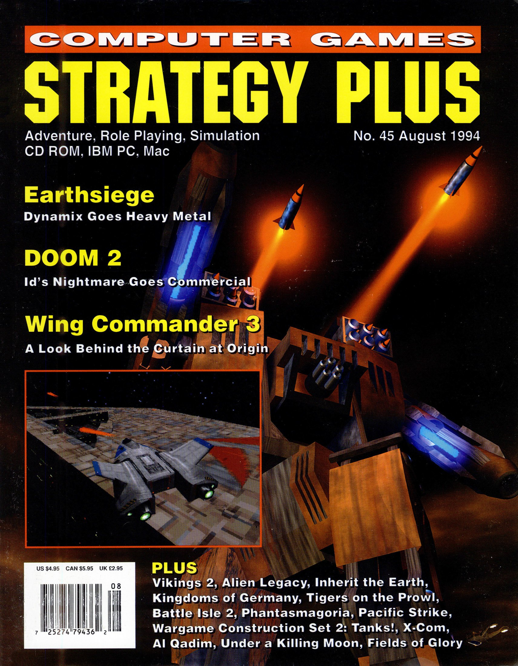Computer Games Strategy Plus Issue 045 (August 1994)