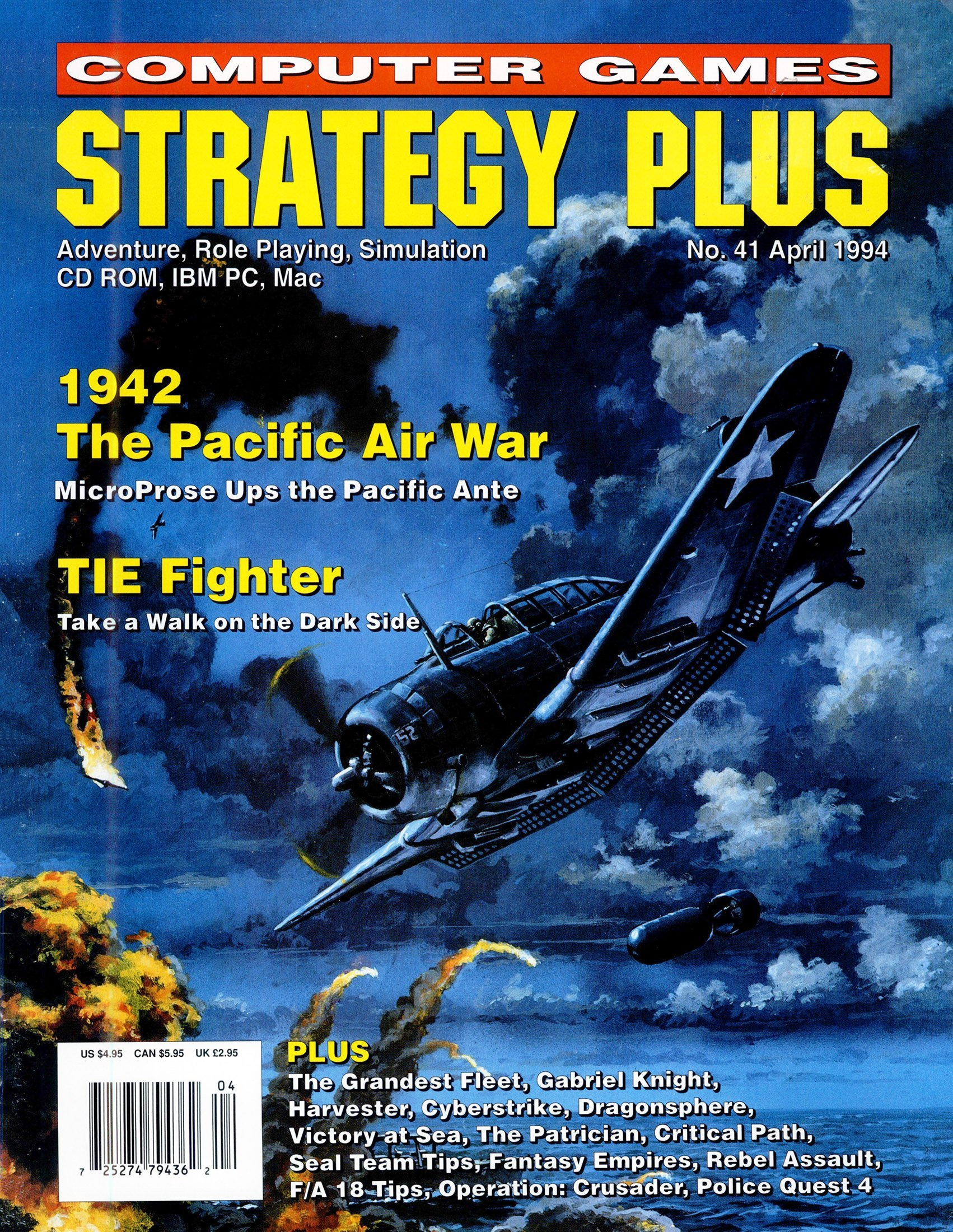 Computer Games Strategy Plus Issue 041 (April 1994)