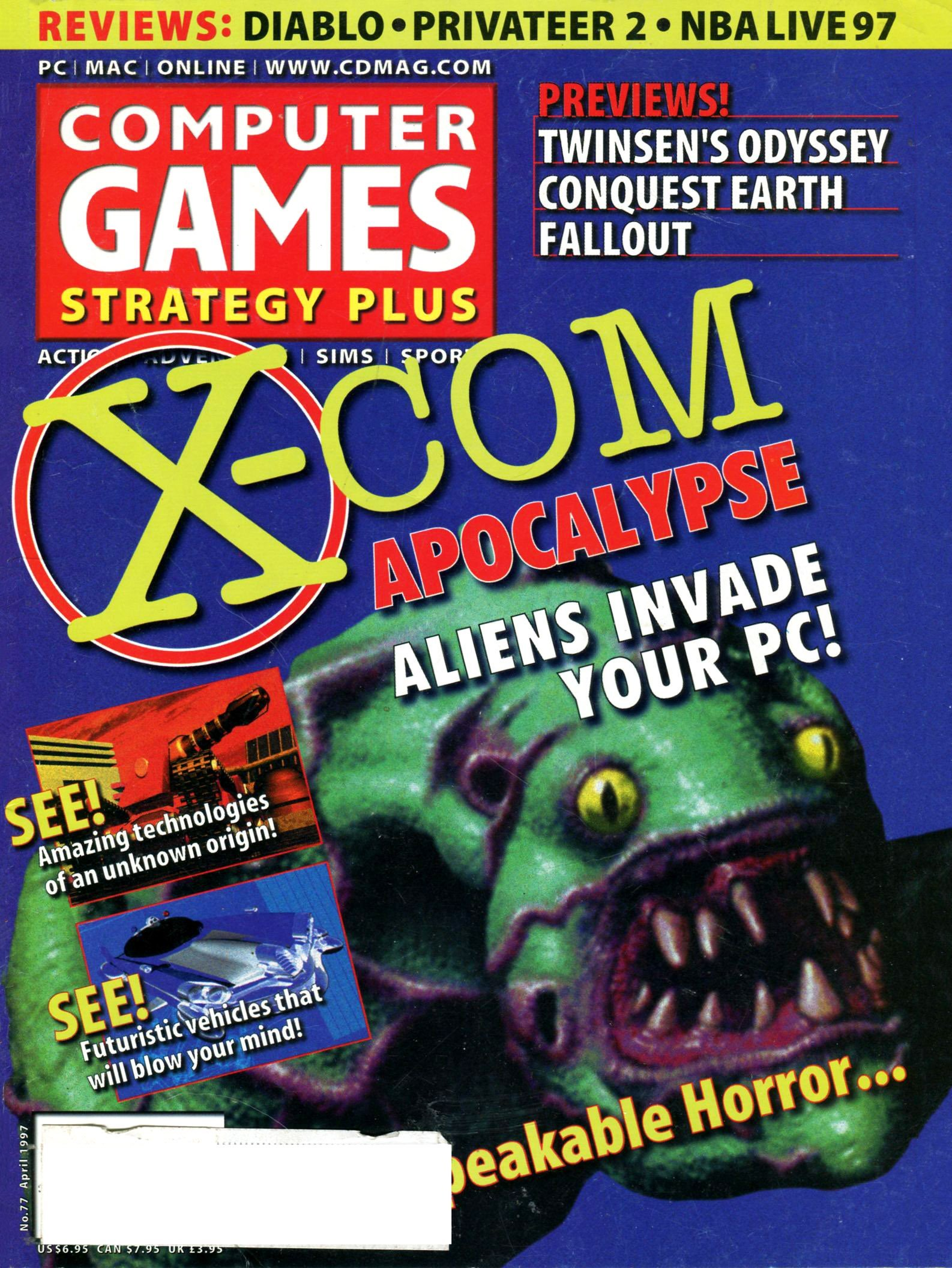 Computer Games Strategy Plus Issue 077 (April 1997)