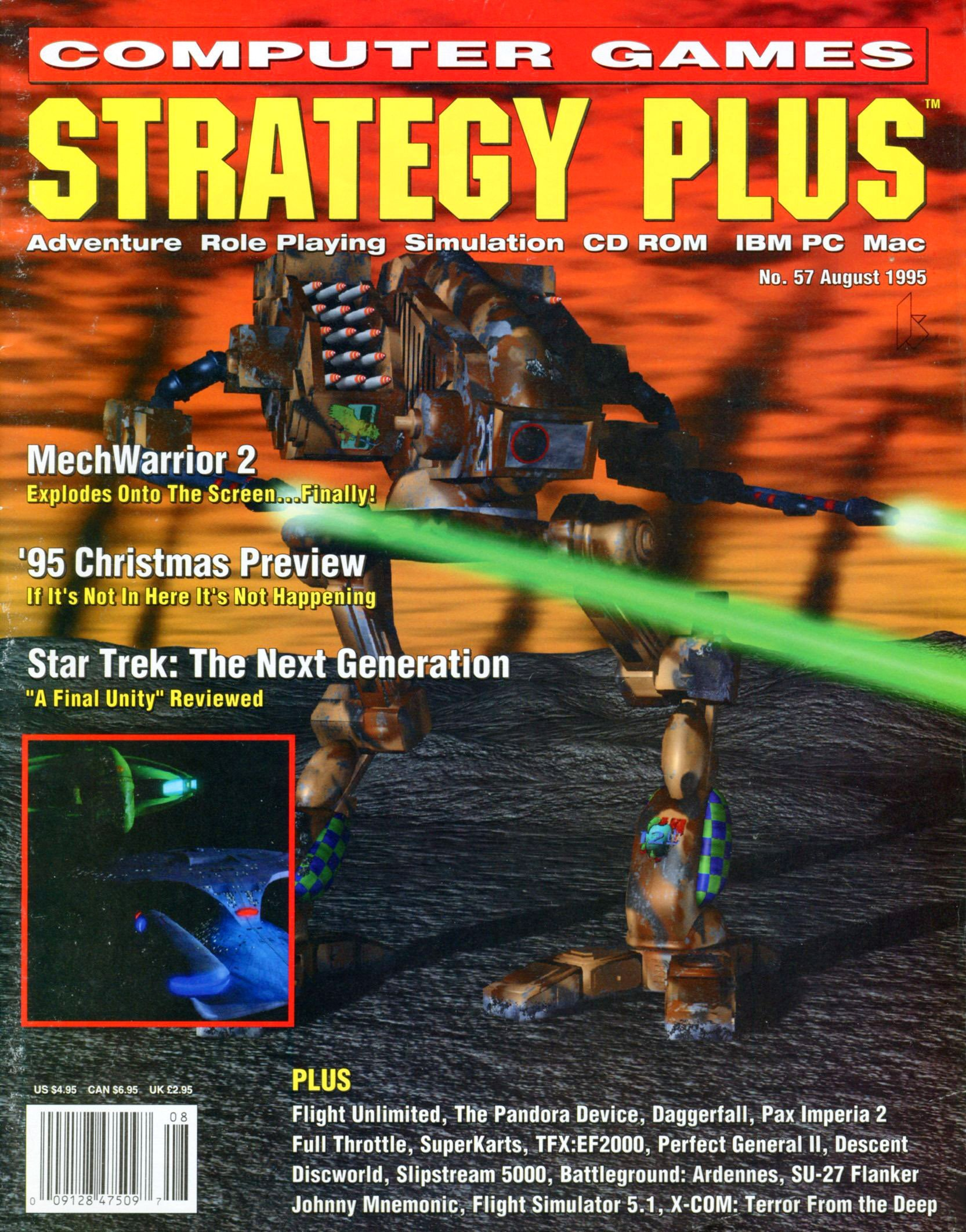 Computer Games Strategy Plus Issue 057 (August 1995)