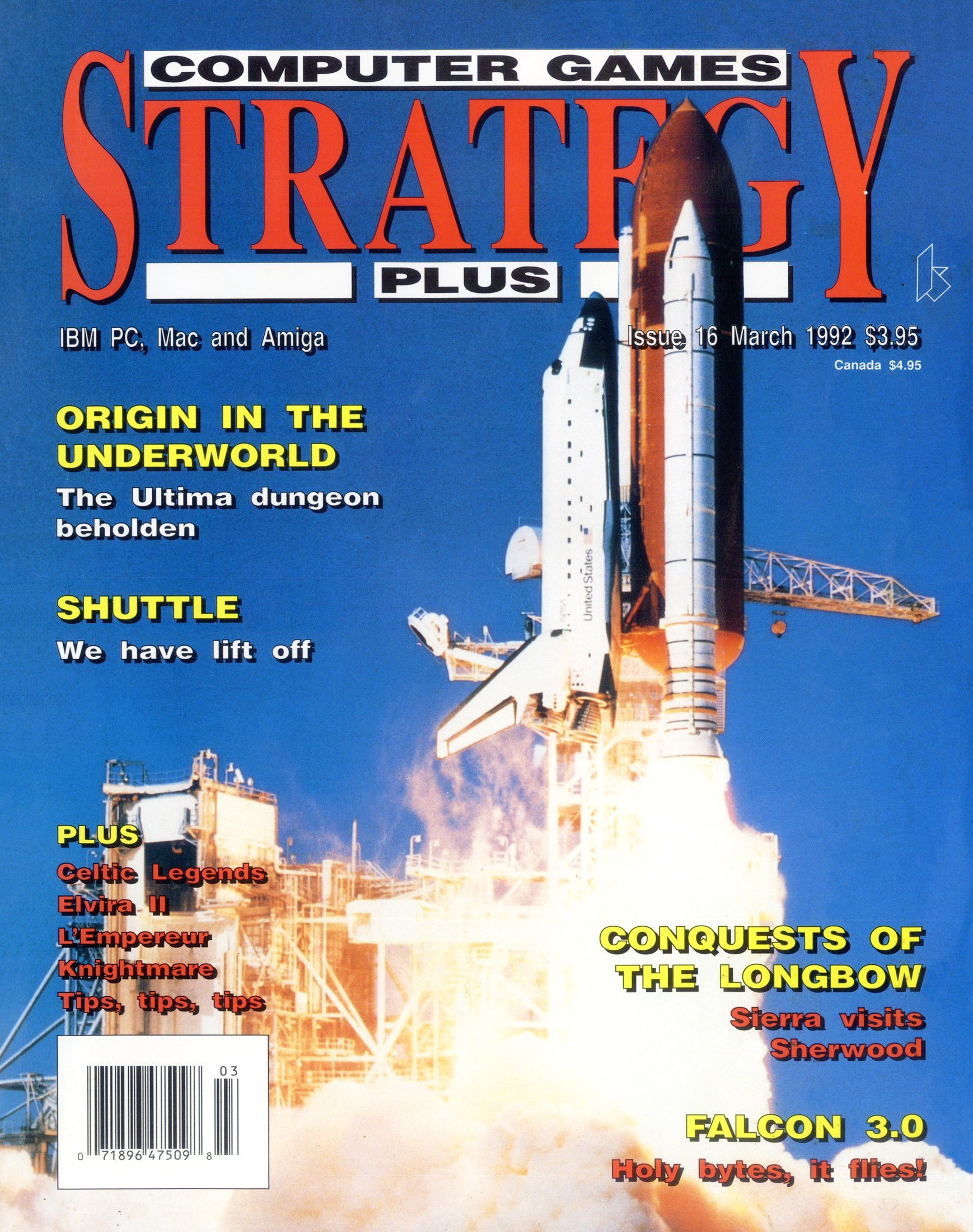 Computer Games Strategy Plus Issue 016 (March 1992) (USA edition)