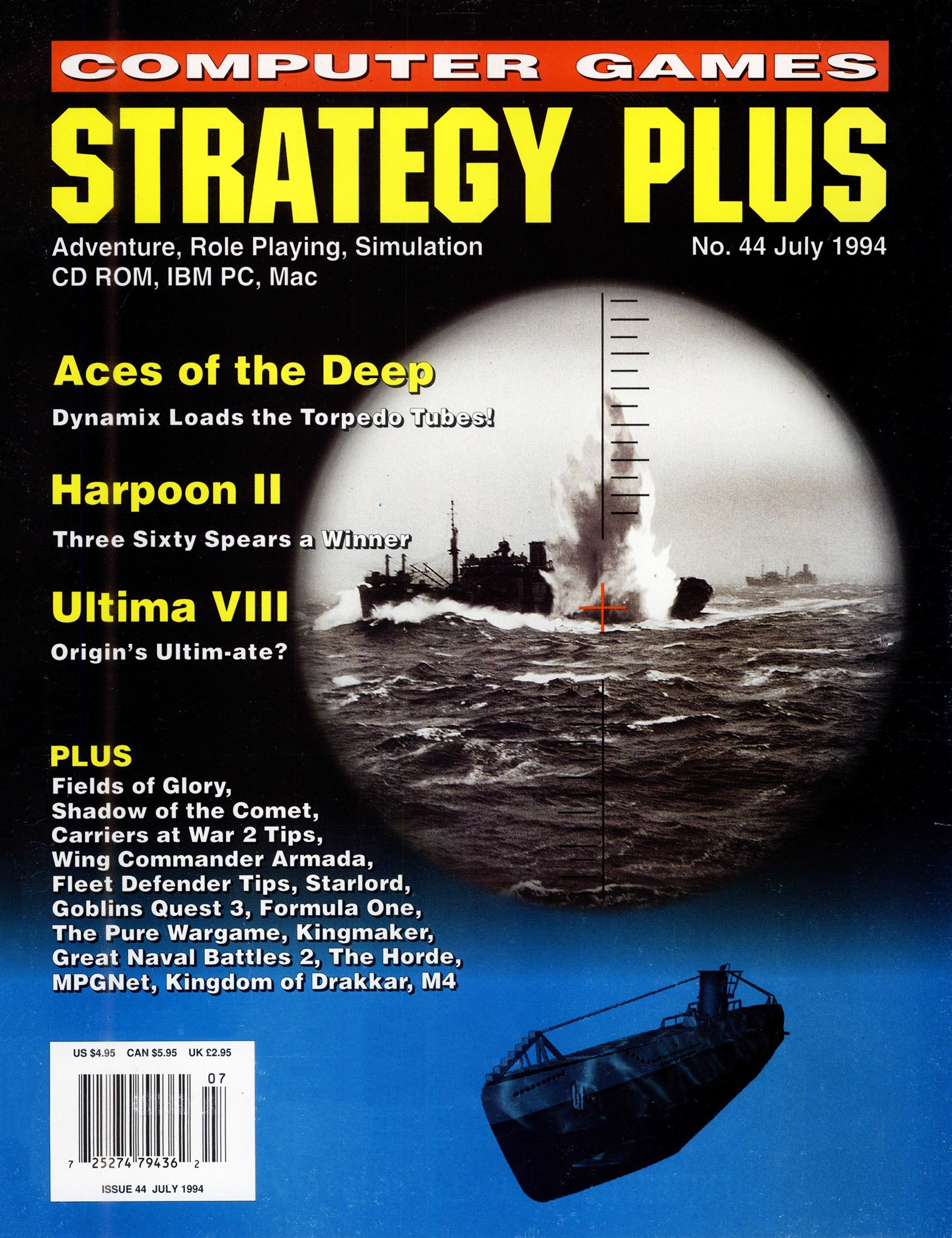 Computer Games Strategy Plus Issue 044 (July 1994)