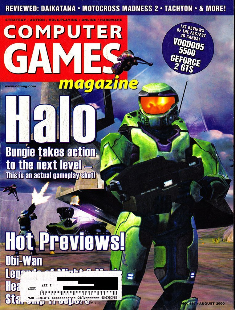 Computer Games Magazine Issue 117 (August 2000)
