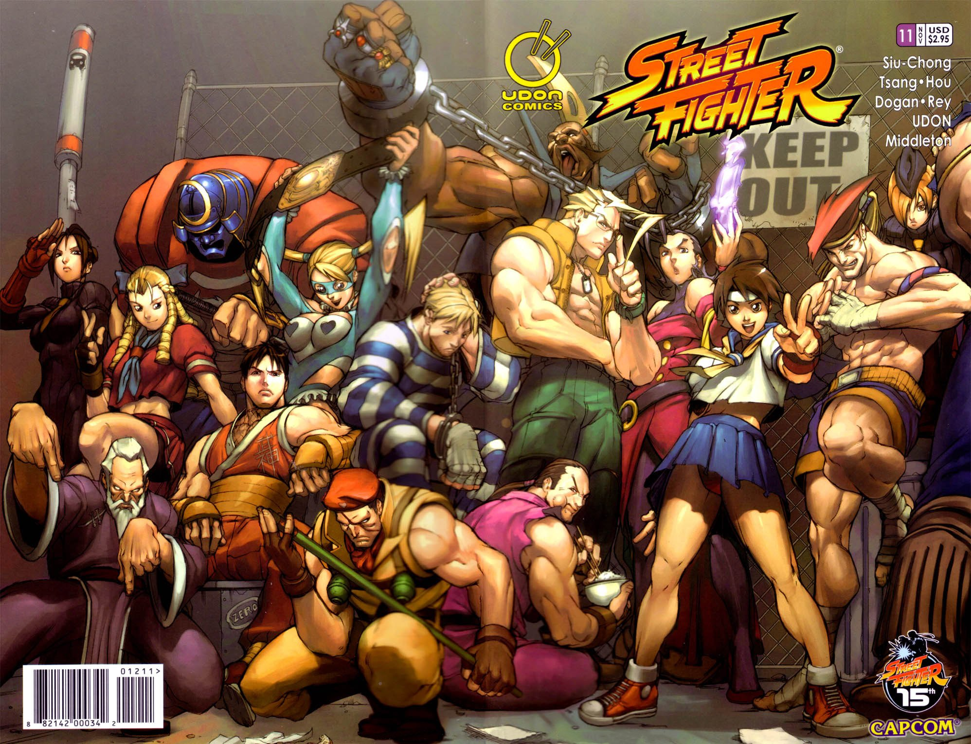 Street Fighter Vol.1 011 (November 2004) (cover a)