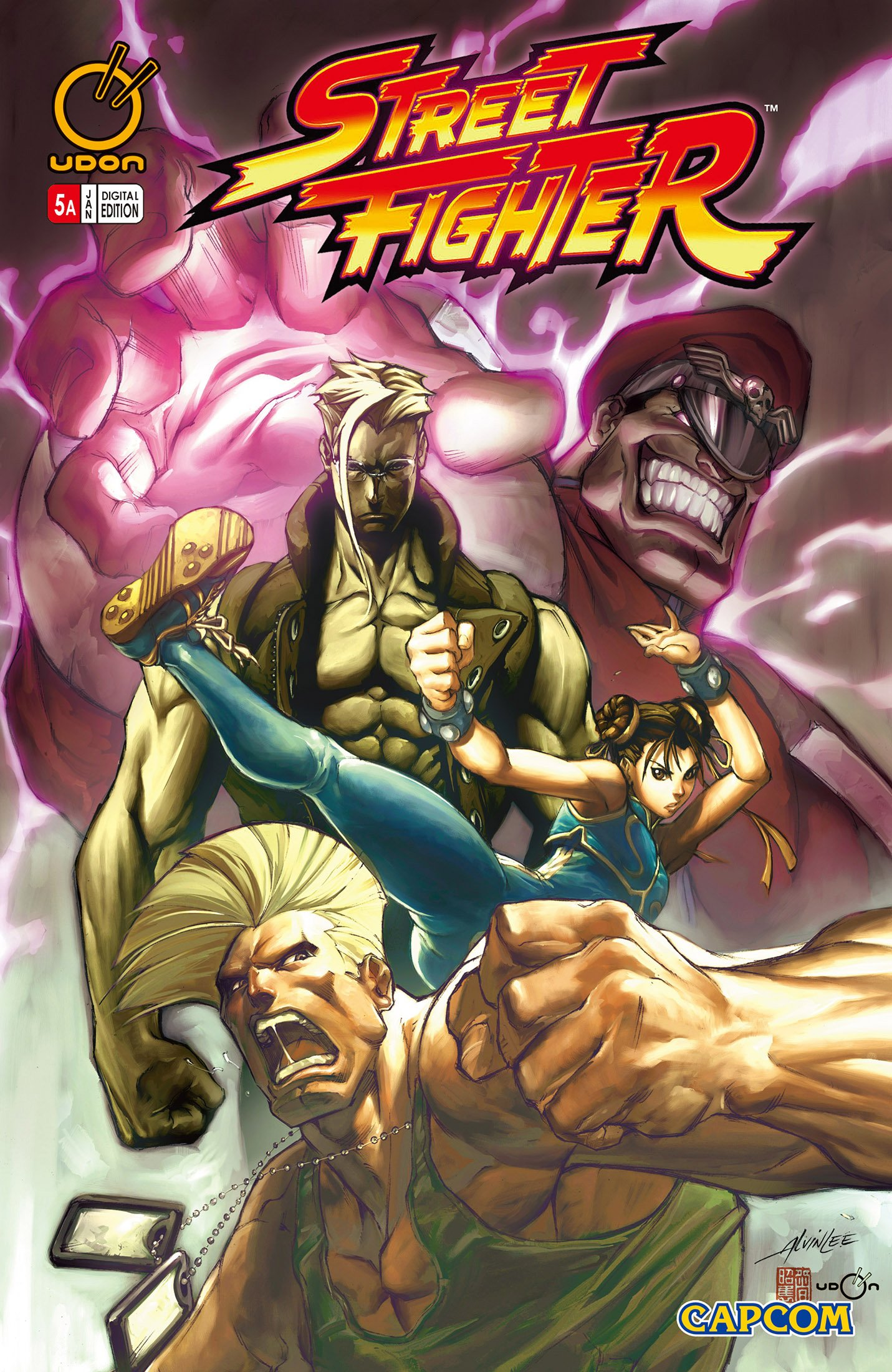 Street Fighter Vol.1 005 (January 2004) (cover a)