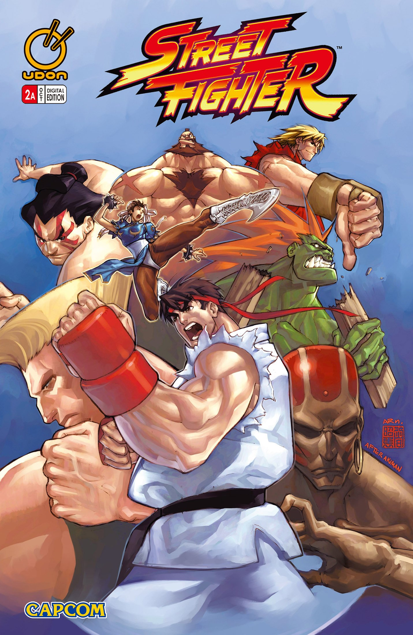 Street Fighter Vol.1 002 (October 2003) (cover a)