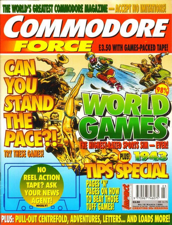 Commodore Force 16 (March 1994)