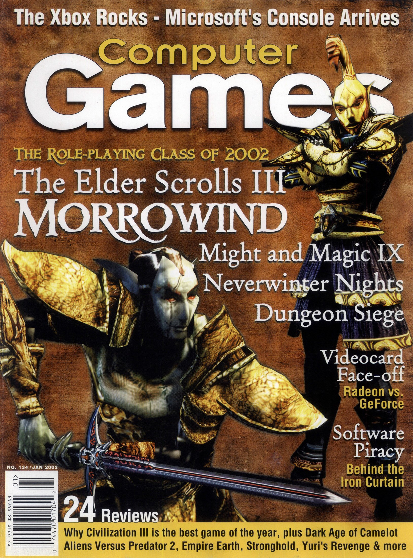 Computer Games Issue 134 (January 2002)