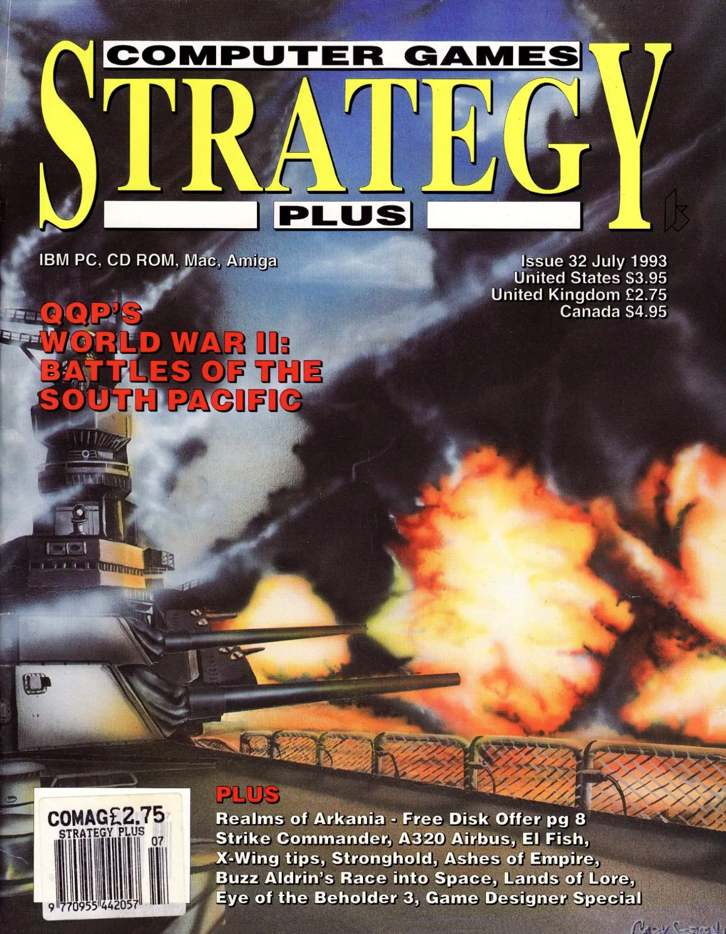 Computer Games Strategy Plus Issue 032 (July 1993)