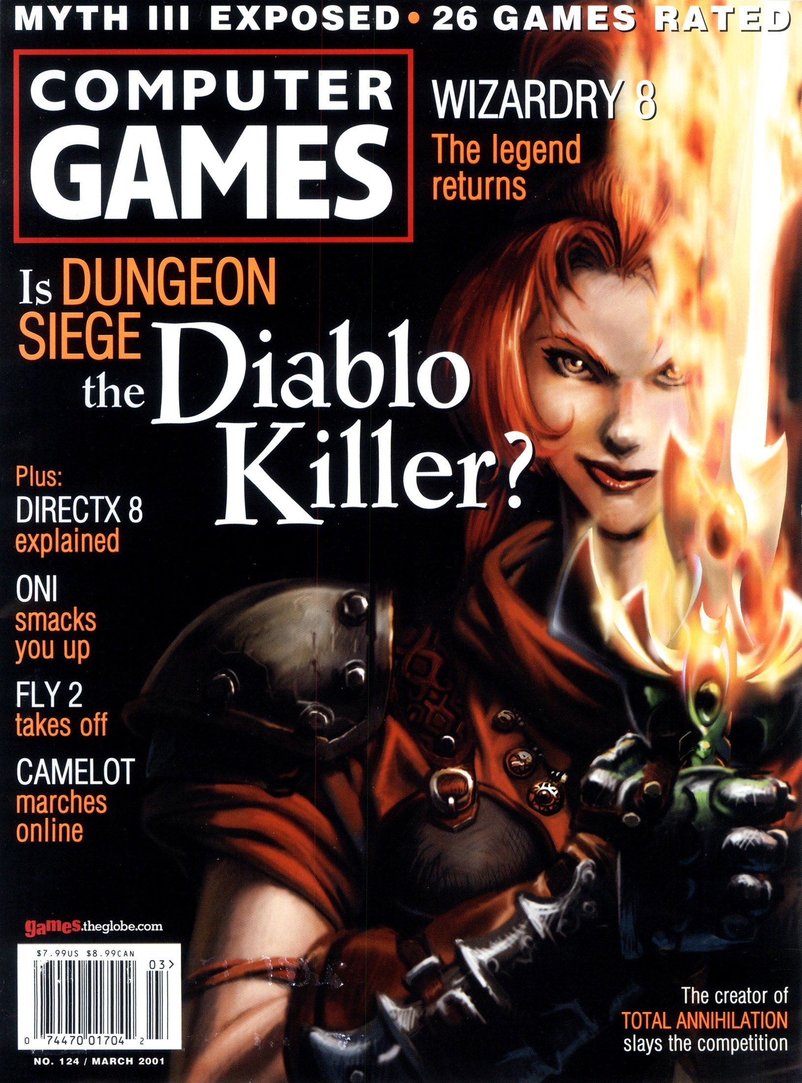 Computer Games Issue 124 (March 2001)