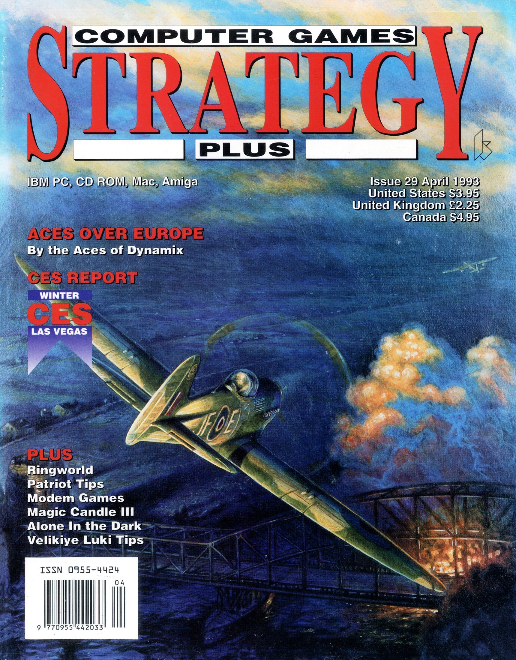 Computer Games Strategy Plus Issue 029 (April 1993)