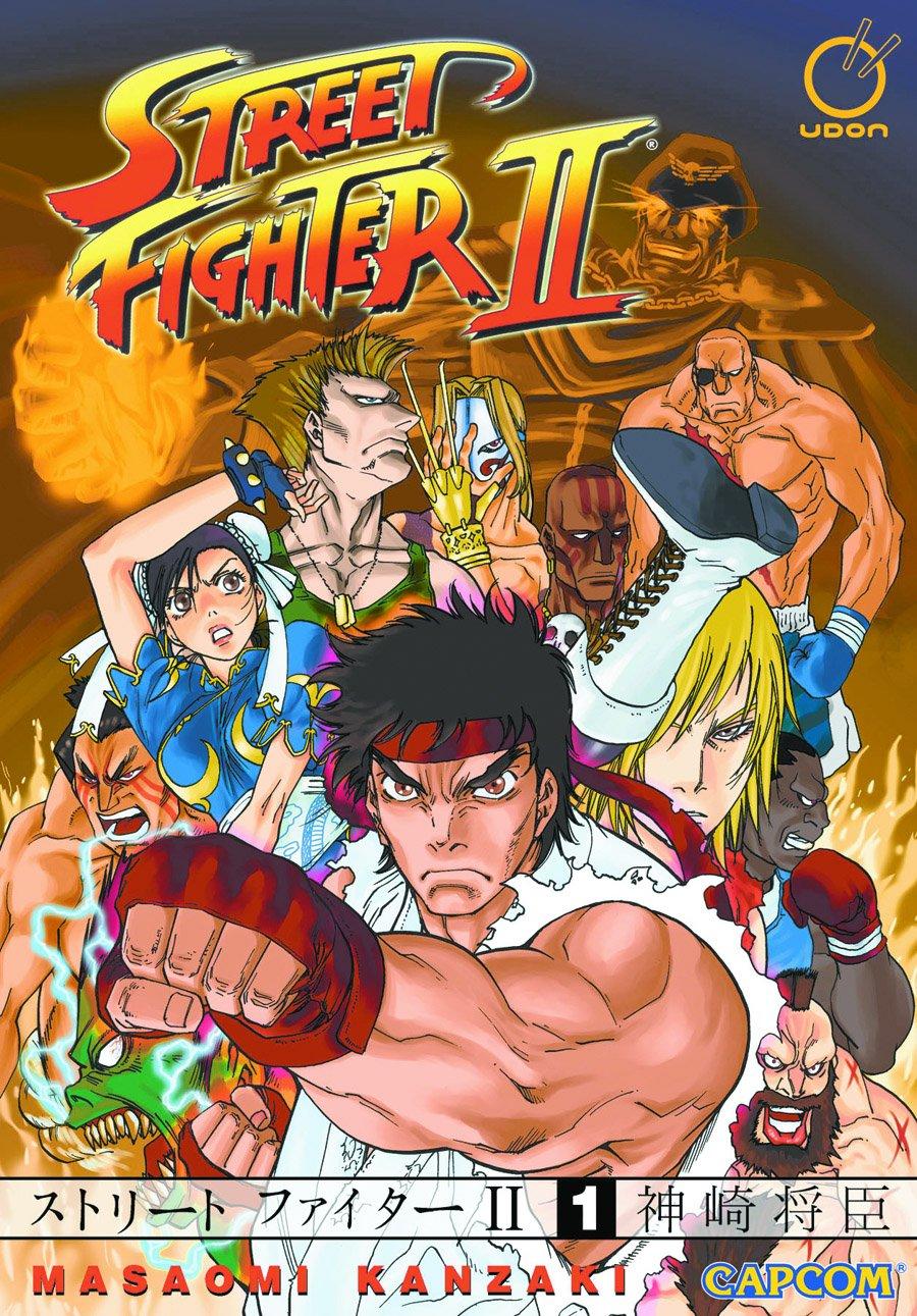 Street Fighter II Manga Vol.1