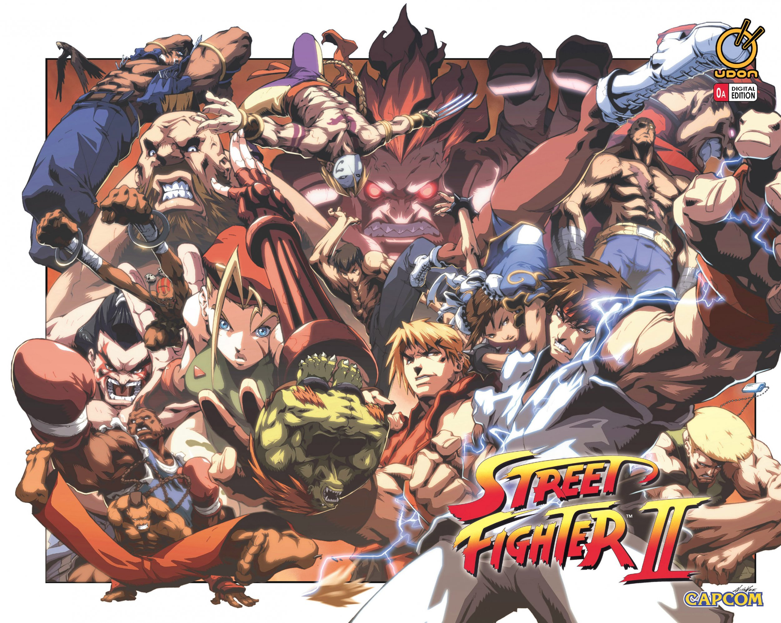 Street Fighter II Issue 0 (October 2005) (cover a)