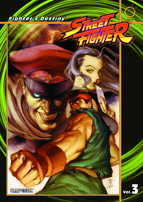 Street Fighter TPB Vol.3 Fighter's Destiny