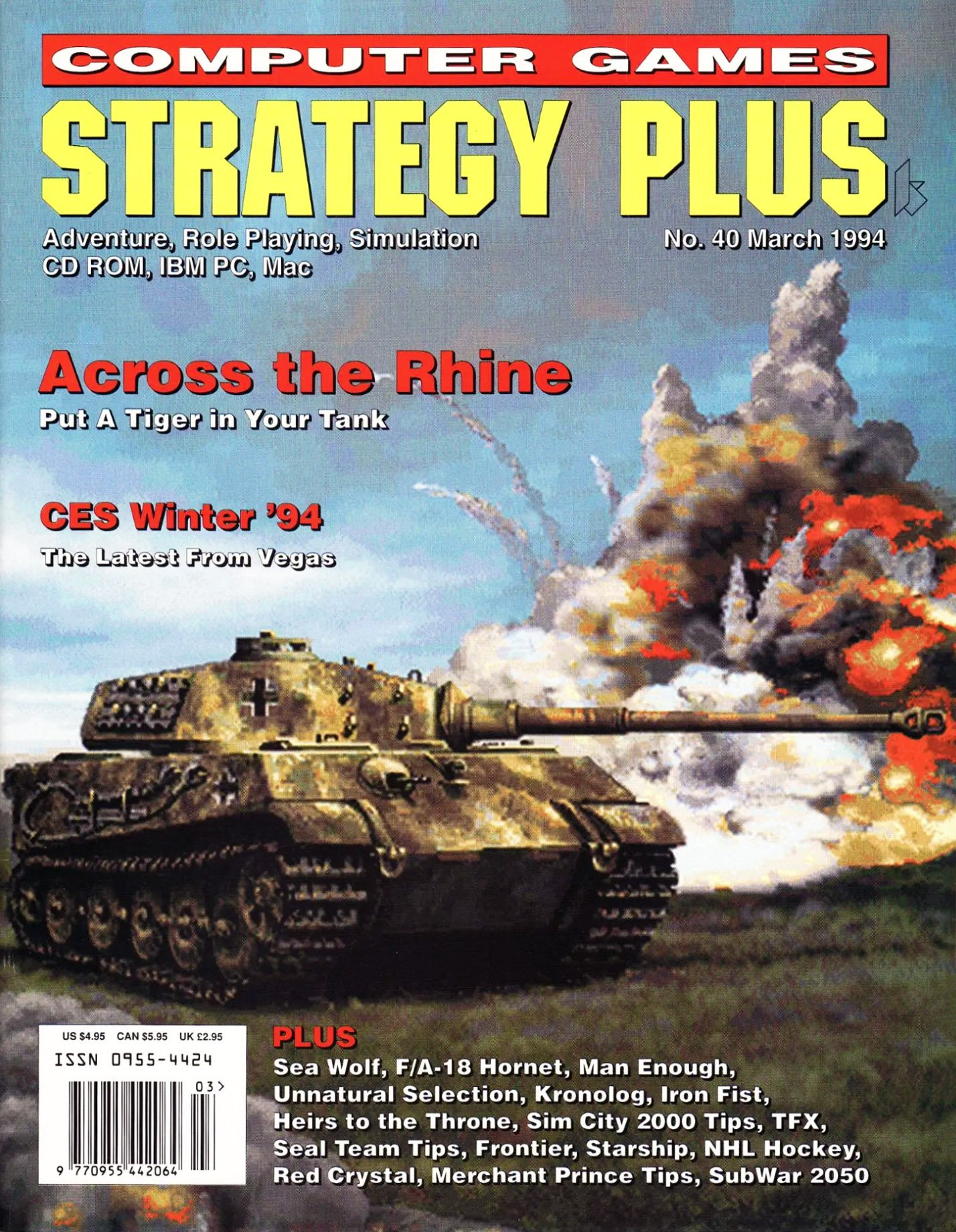 Computer Games Strategy Plus Issue 040 (March 1994)