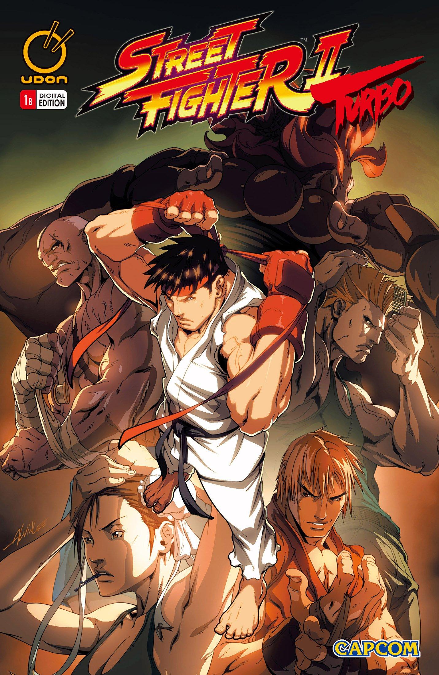 Street Fighter II Turbo 001 (October 2008) (cover b)