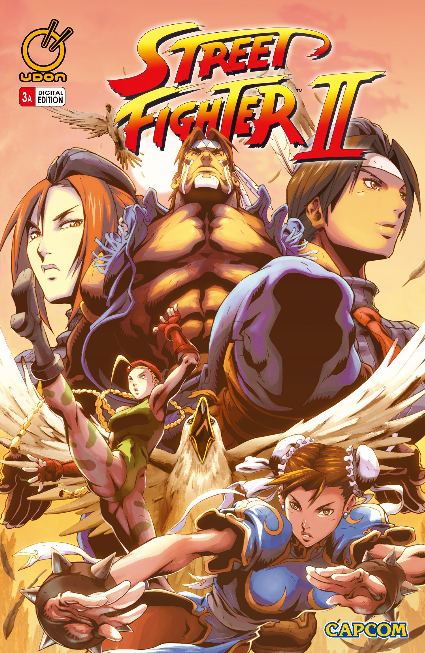 Street Fighter II Issue 3 (February 2006) (cover a)