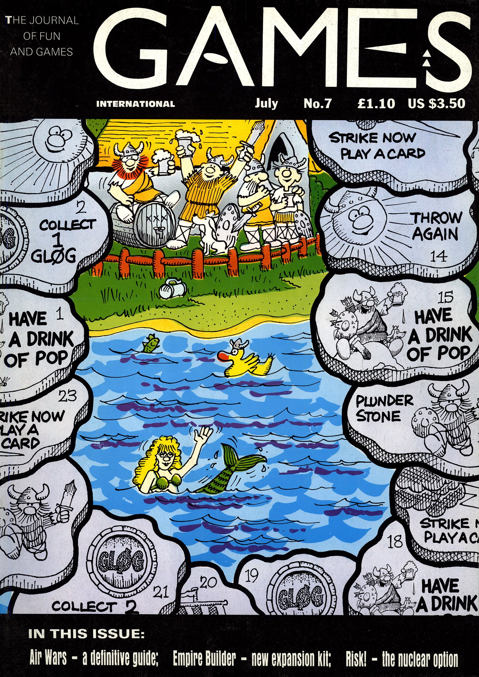 Games International Issue 07 (July 1989)